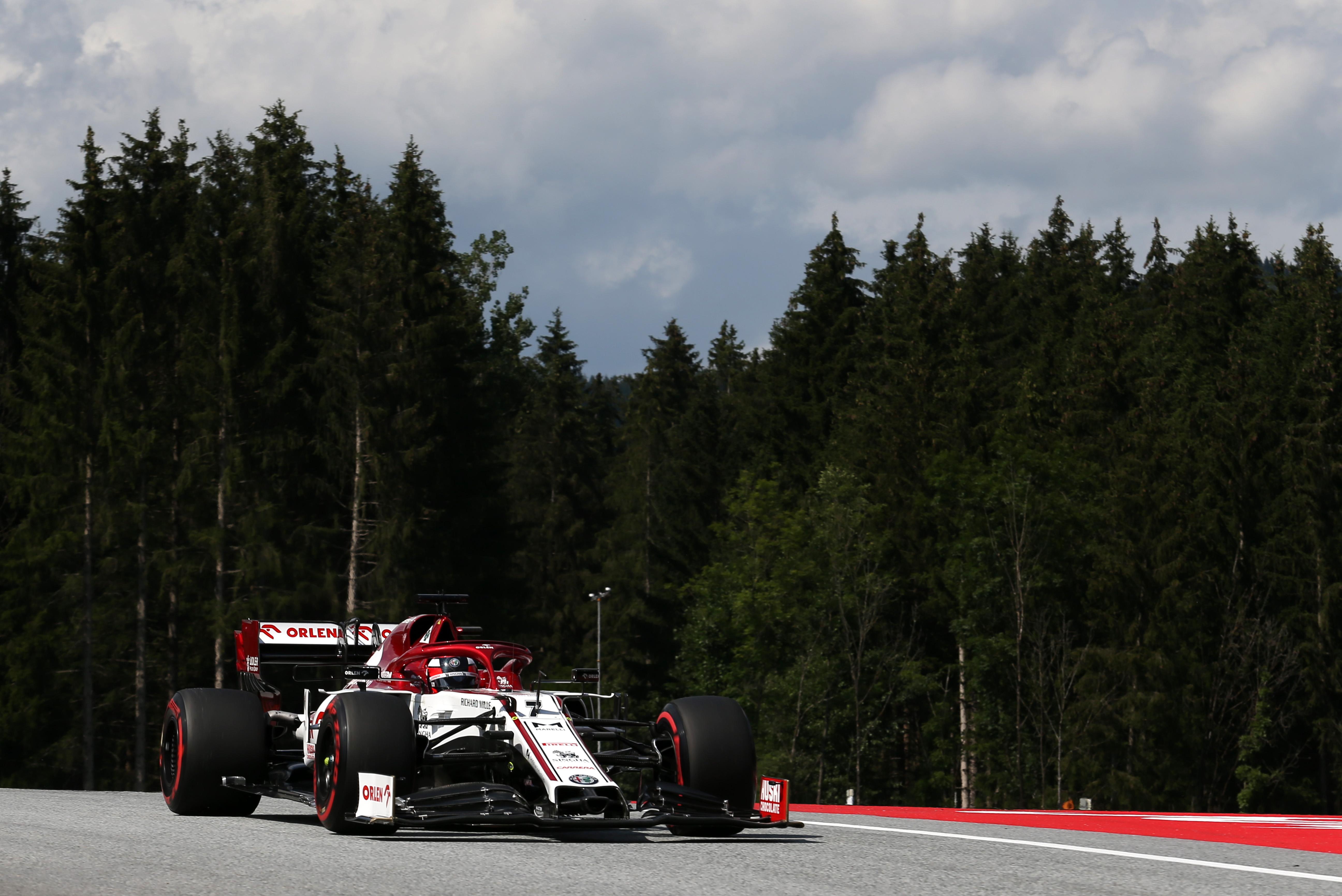 Kimi Raikkonen Alfa Romeo Styrian Grand Prix 2020