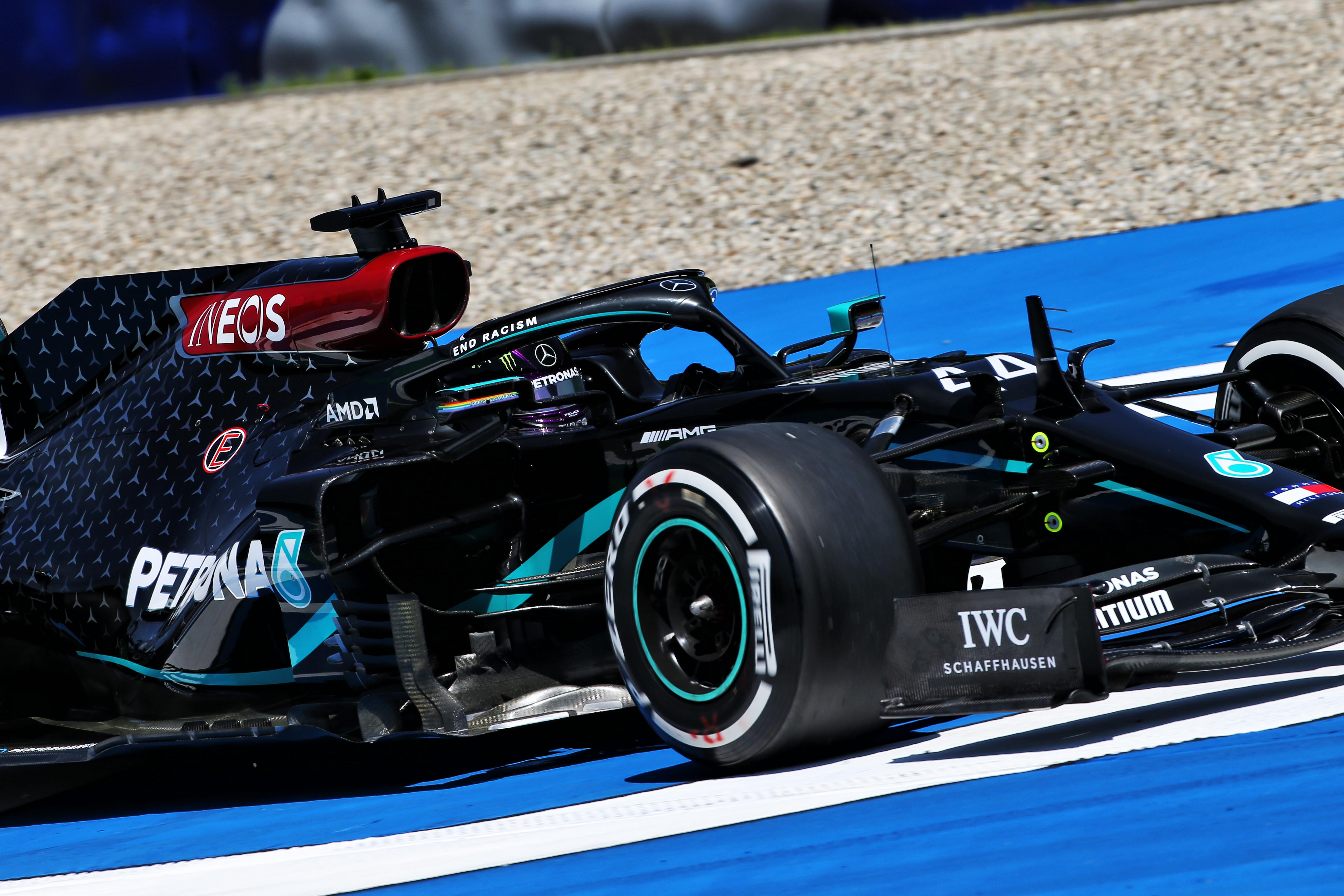 Lewis Hamilton Mercedes Styrian Grand Prix 2020