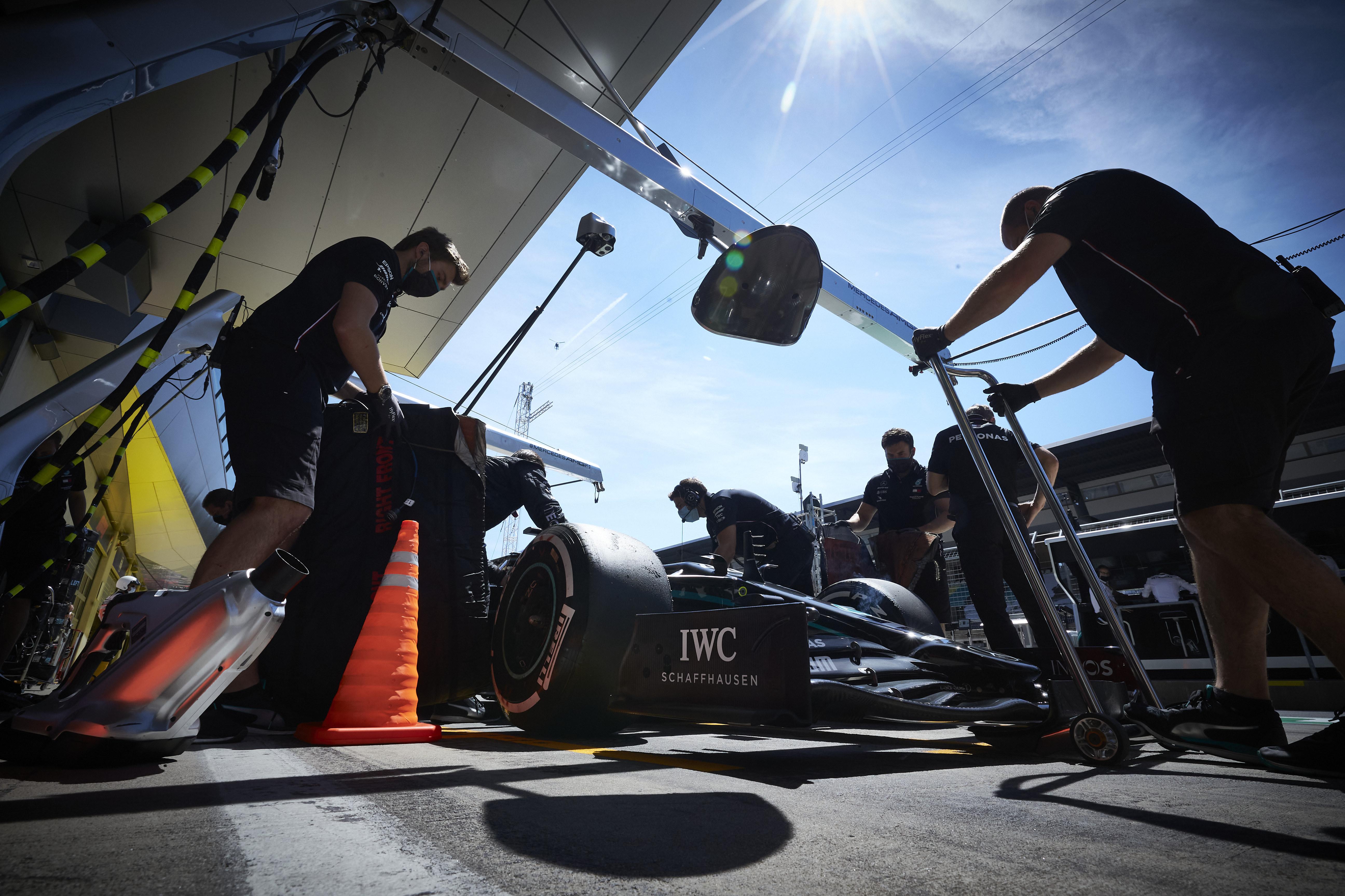 Valtteri Bottas Mercedes Styrian Grand Prix 2020