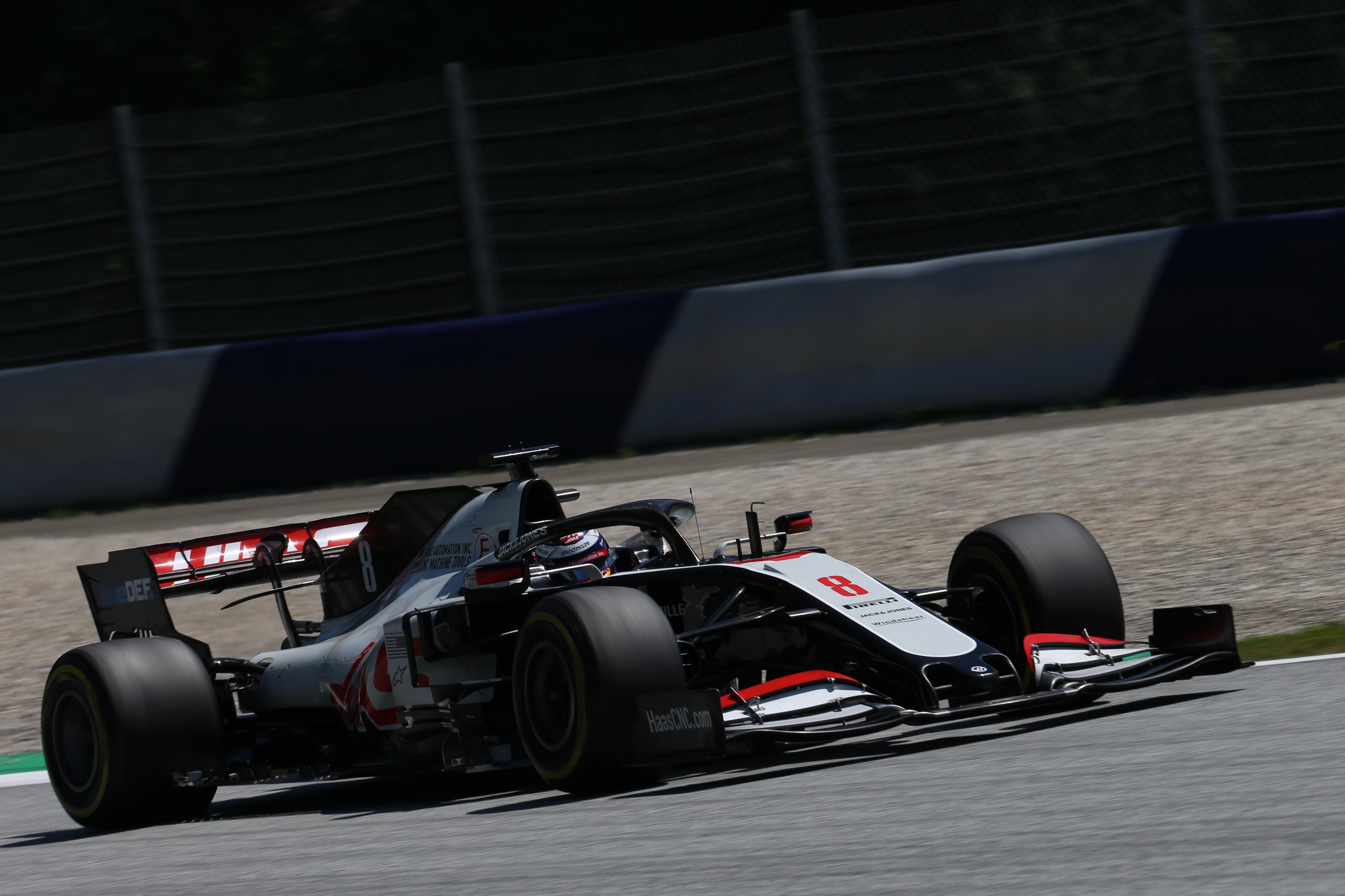 Romain Grosjean Haas Styrian Grand Prix 2020