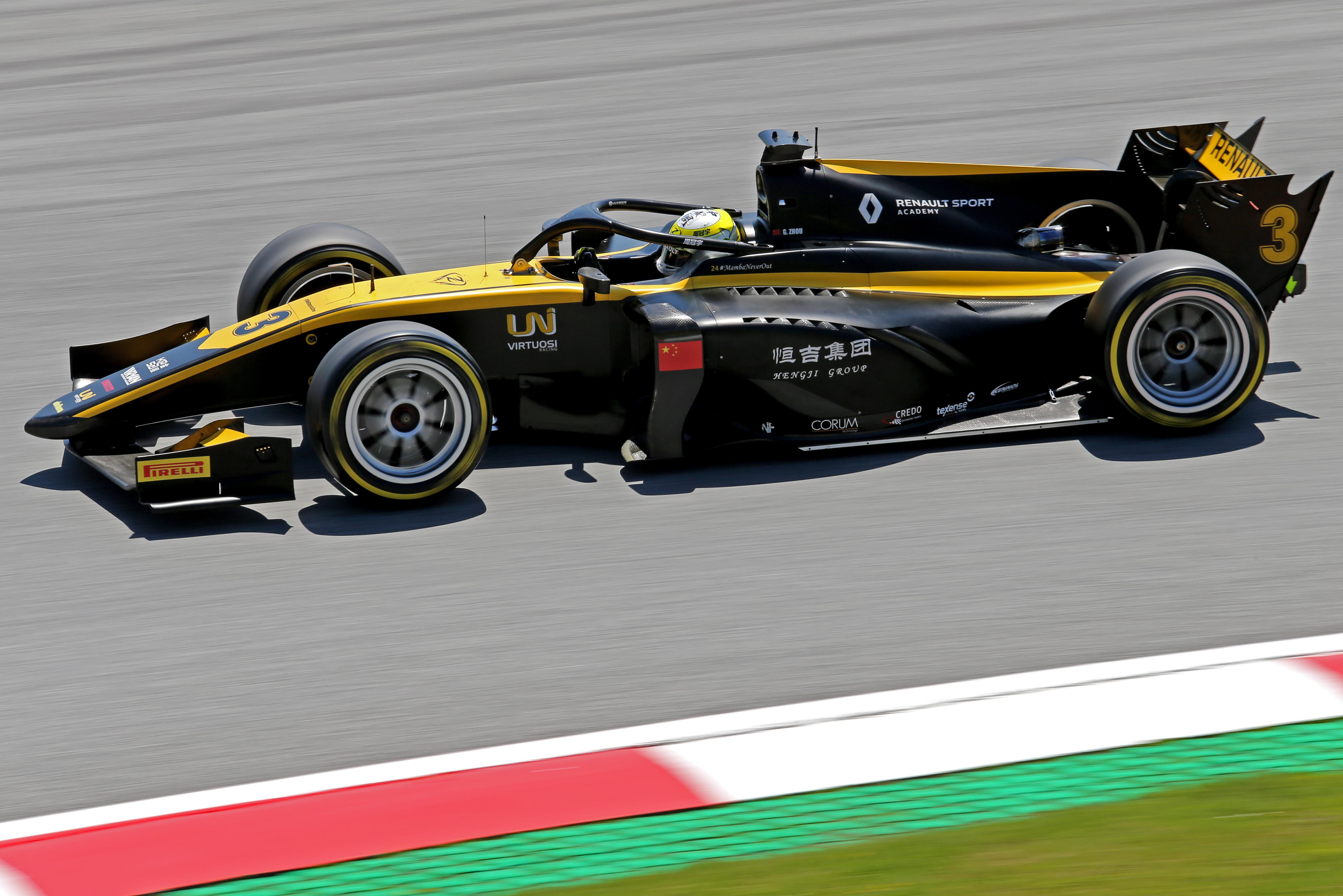 Motor Racing Fia Formula 2 Championship Friday Spielberg, Austria