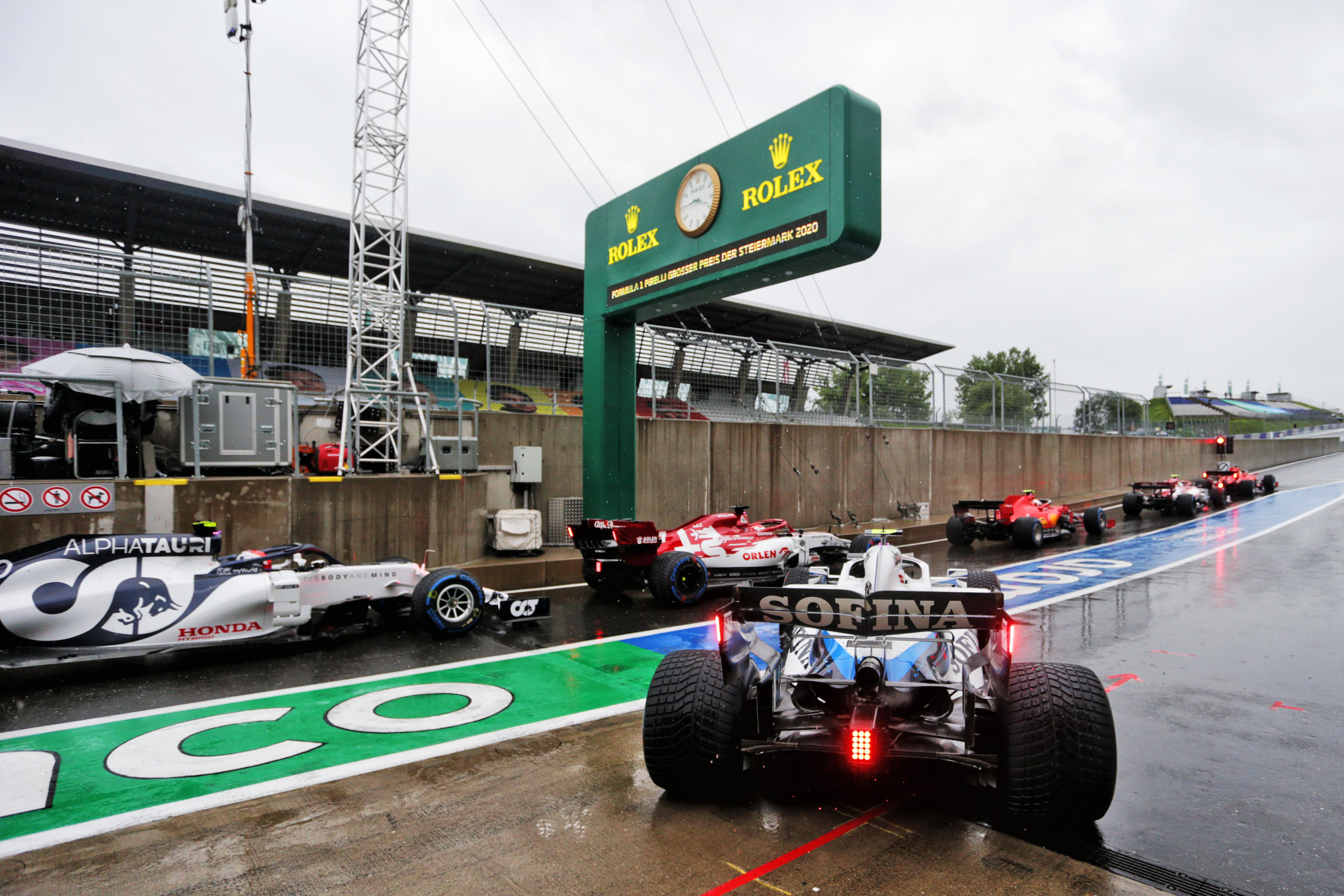 Styrian Grand Prix qualifying 2020
