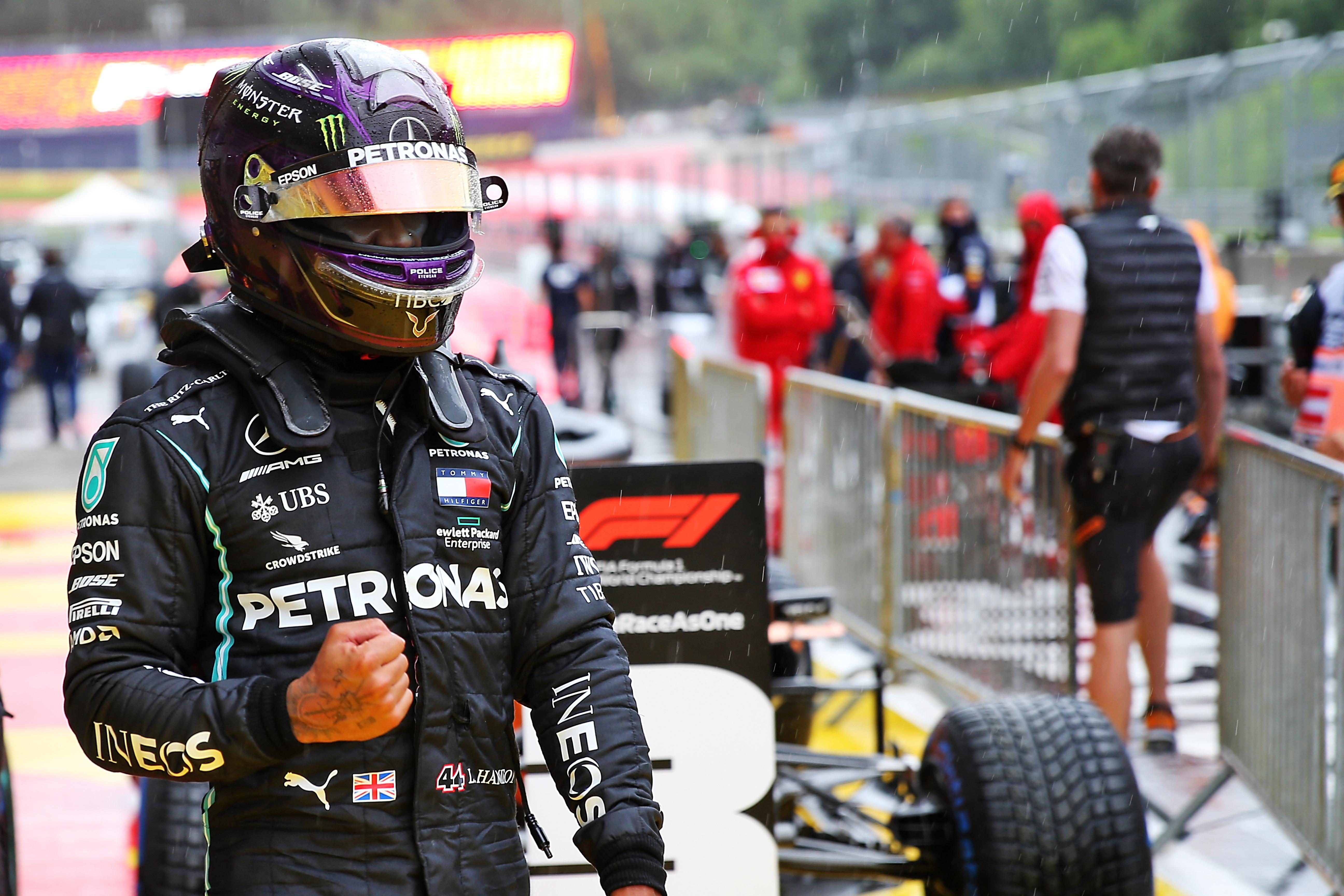 Lewis Hamilton takes Styrian Grand Prix pole 2020