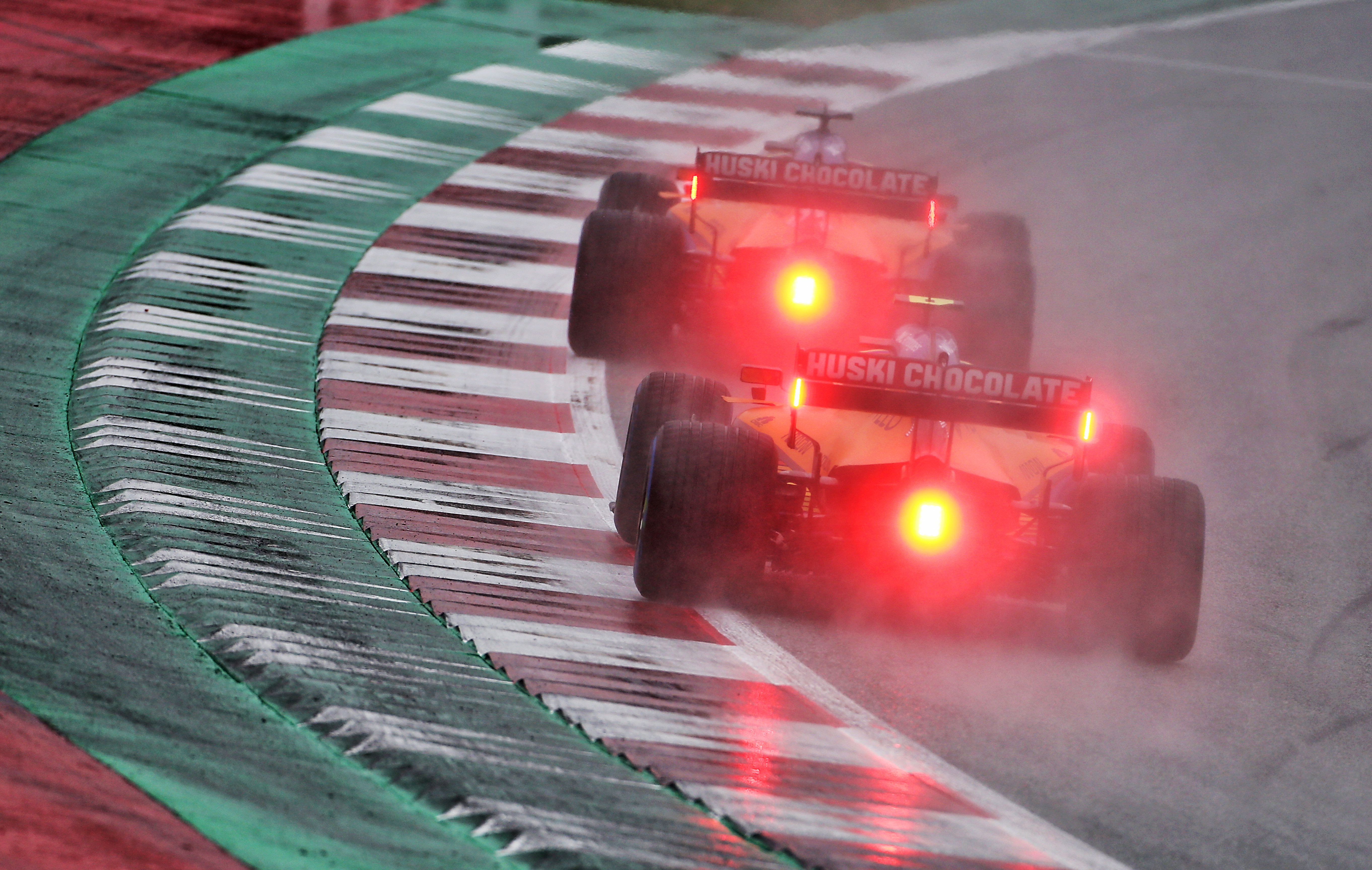 Carlos Sainz Jr Lando Norris McLaren Styrian Grand Prix qualifying 2020