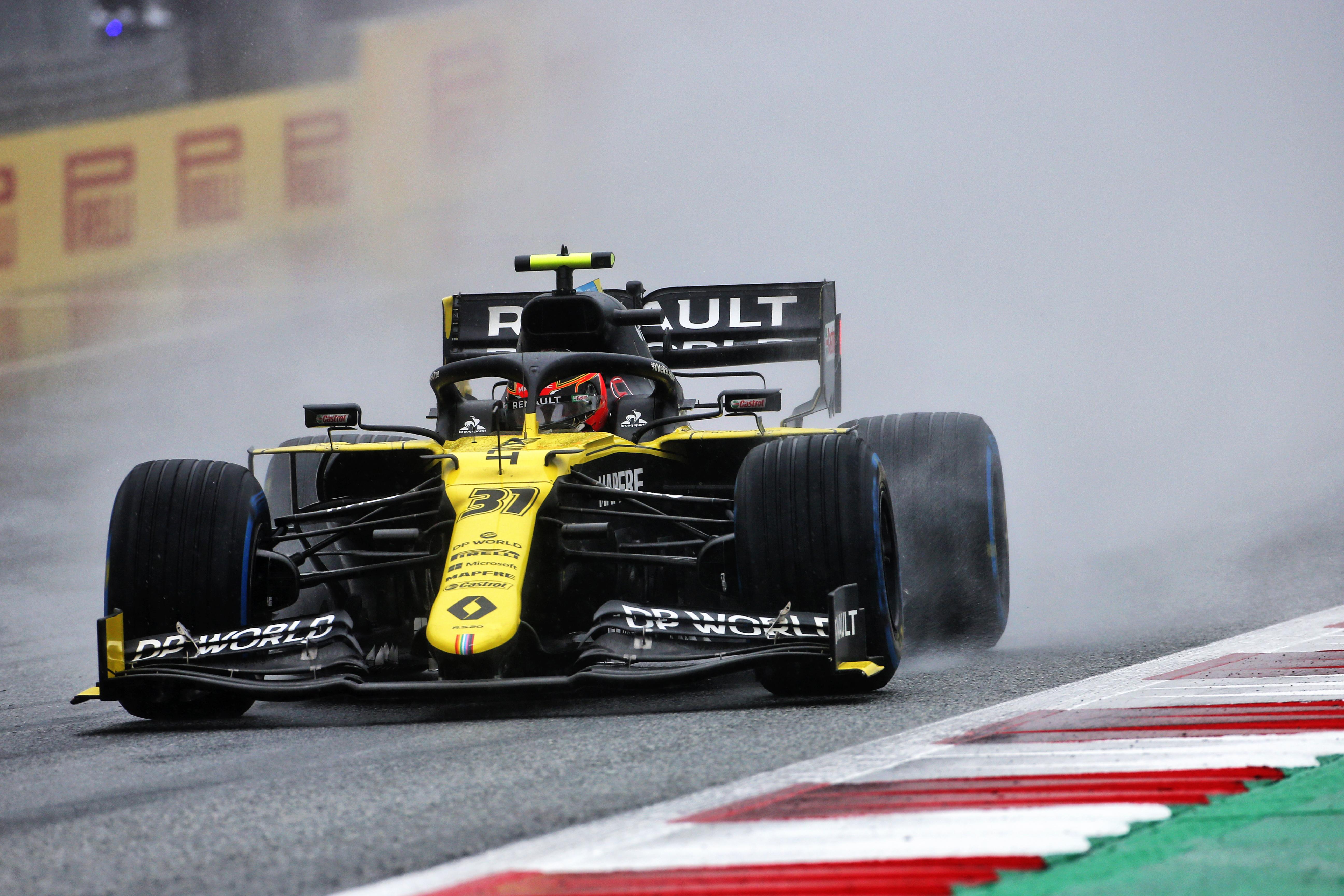 Esteban Ocon Renault Styrian Grand Prix 2020