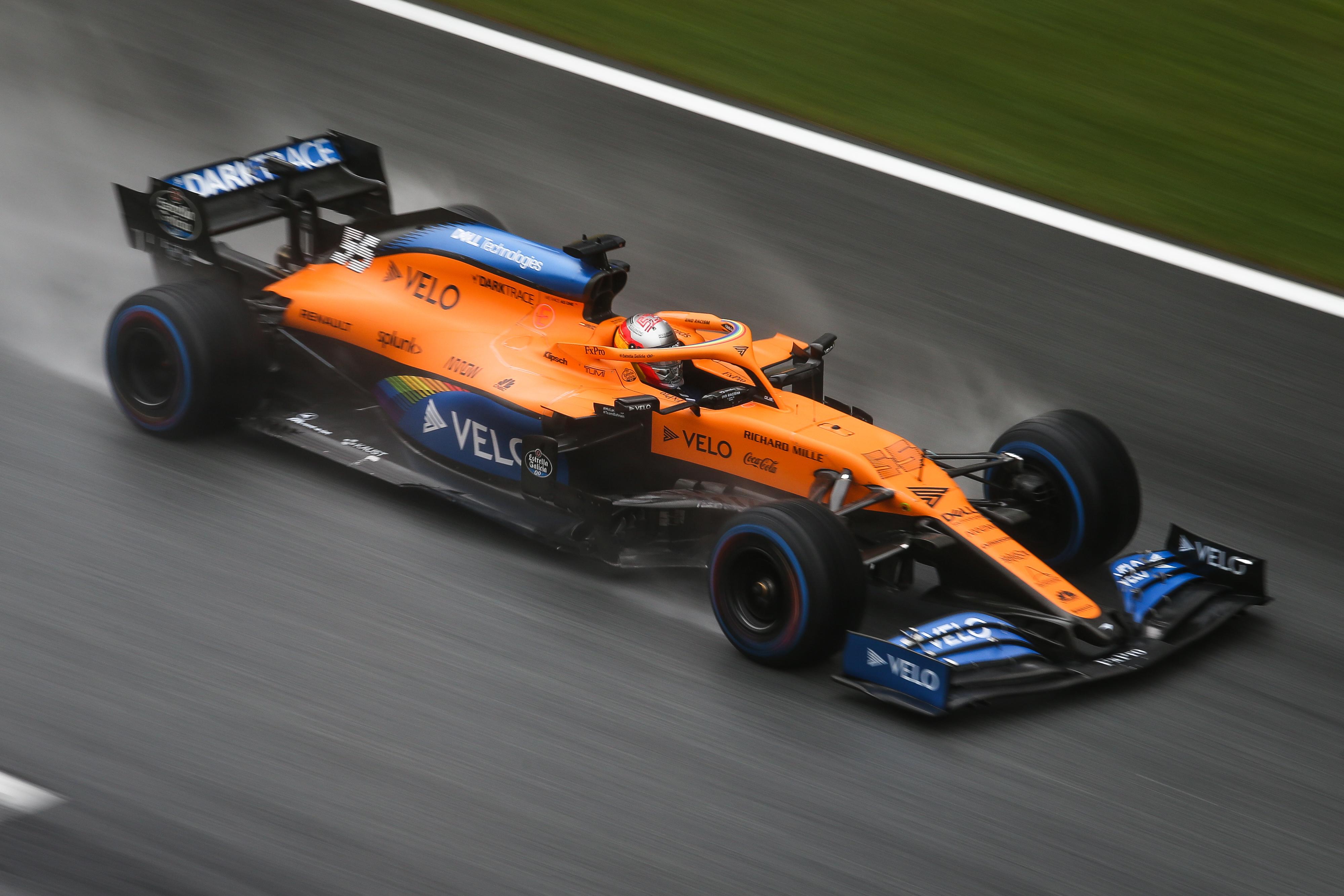 Carlos Sainz Jr McLaren Styrian Grand Prix 2020
