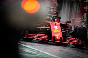 Sebastian Vettel Ferrari Styrian Grand Prix 2020