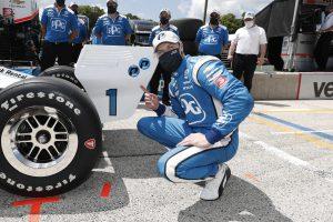 Josef Newgarden takes Road America IndyCar pole 2020