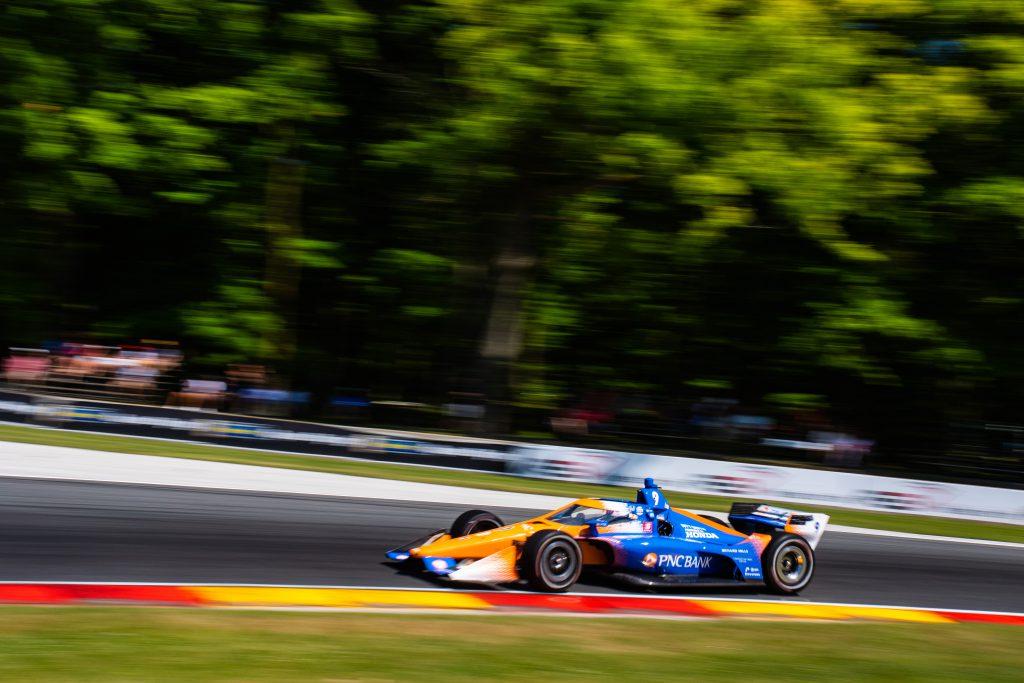 Scott Dixon Ganassi Road America IndyCar 2020