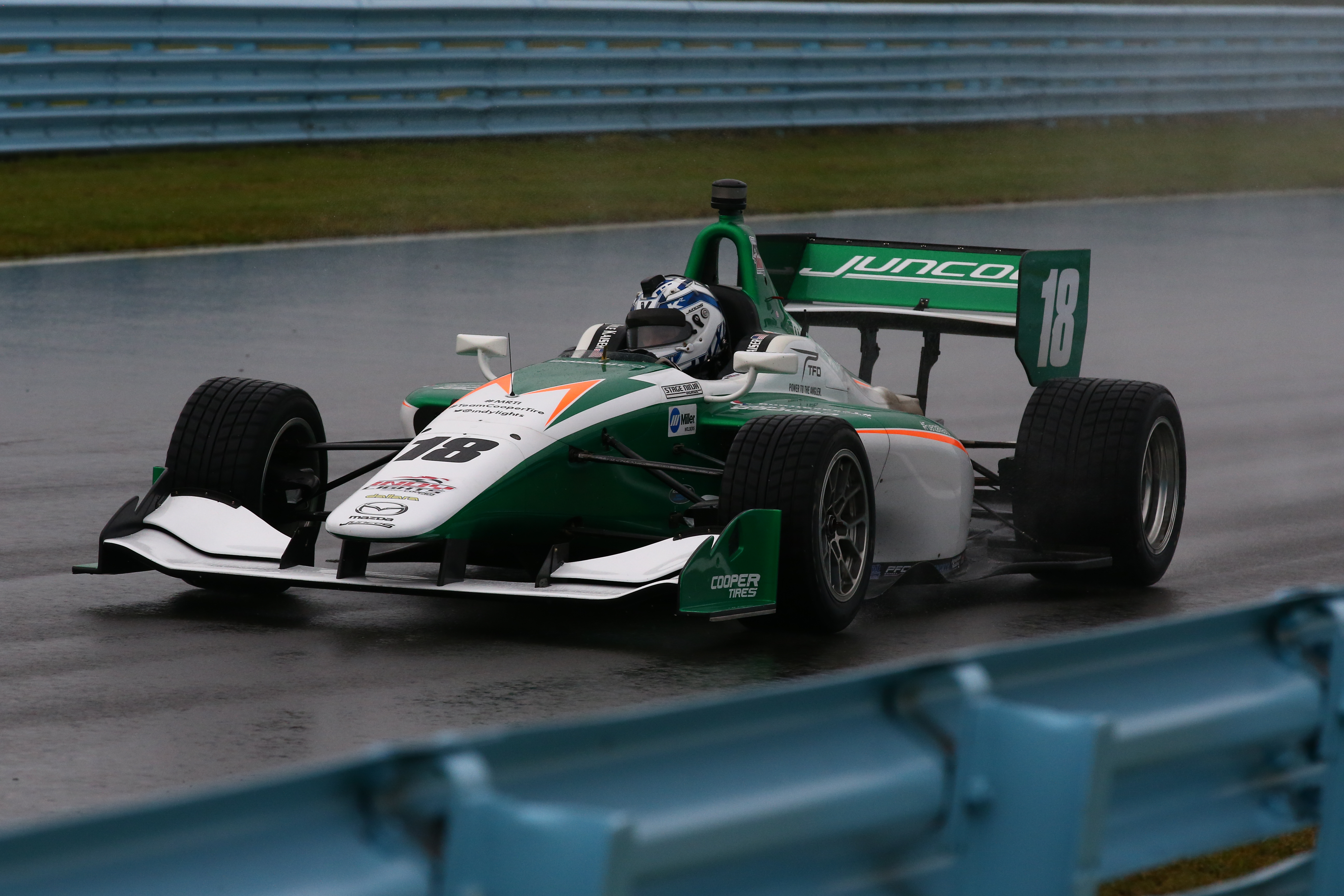Kyle Kaiser Juncos Indy Lights 2017