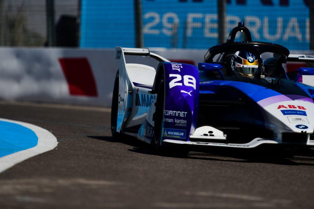 Kyle Kirkwood BMW Marrakesh Formula E test 2020