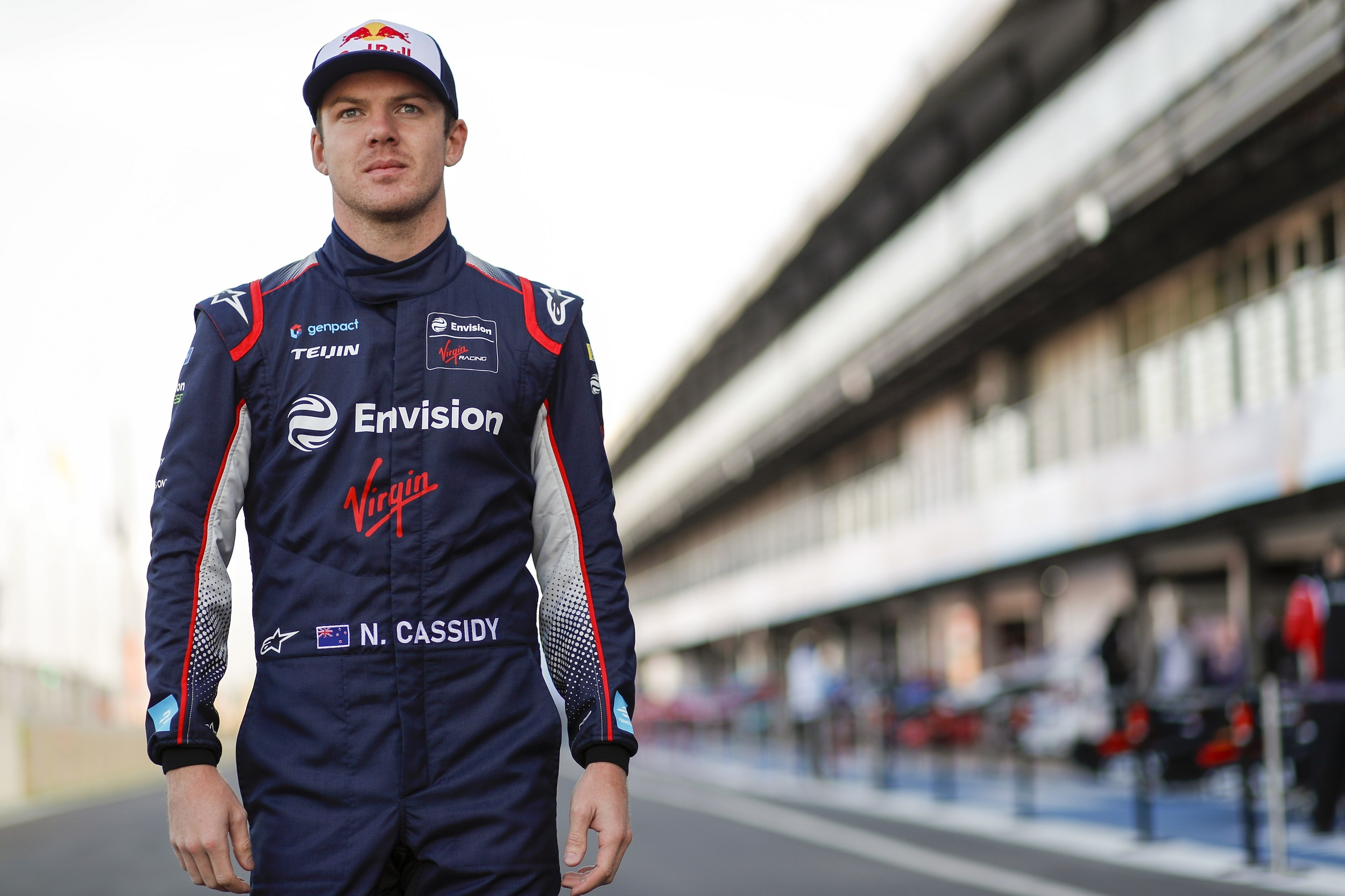 Nick Cassidy Envision Virgin Formula E test