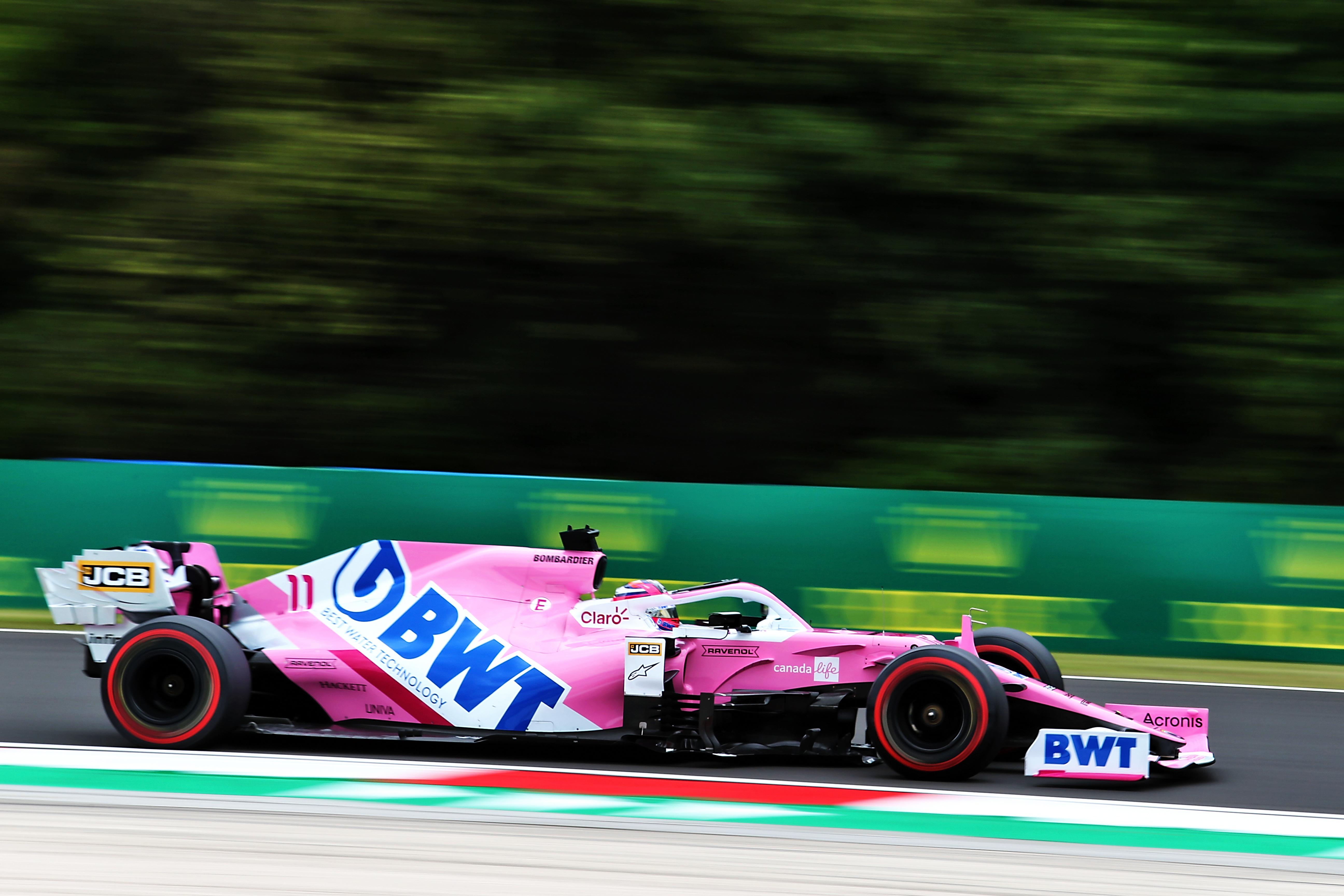 Sergio Perez Racing Point F1 2020