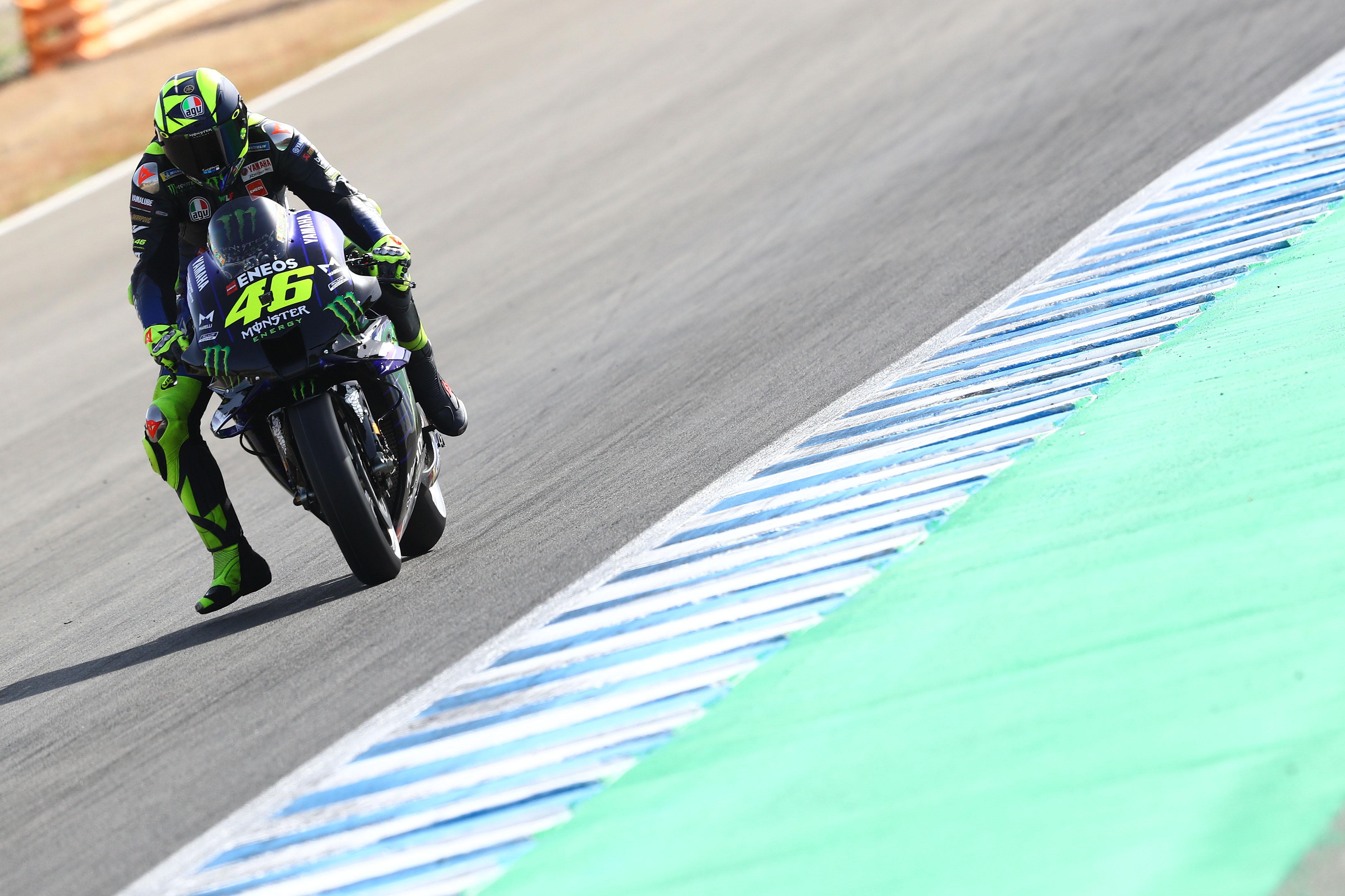 Valentino Rossi Yamaha Jerez MotoGP 2020