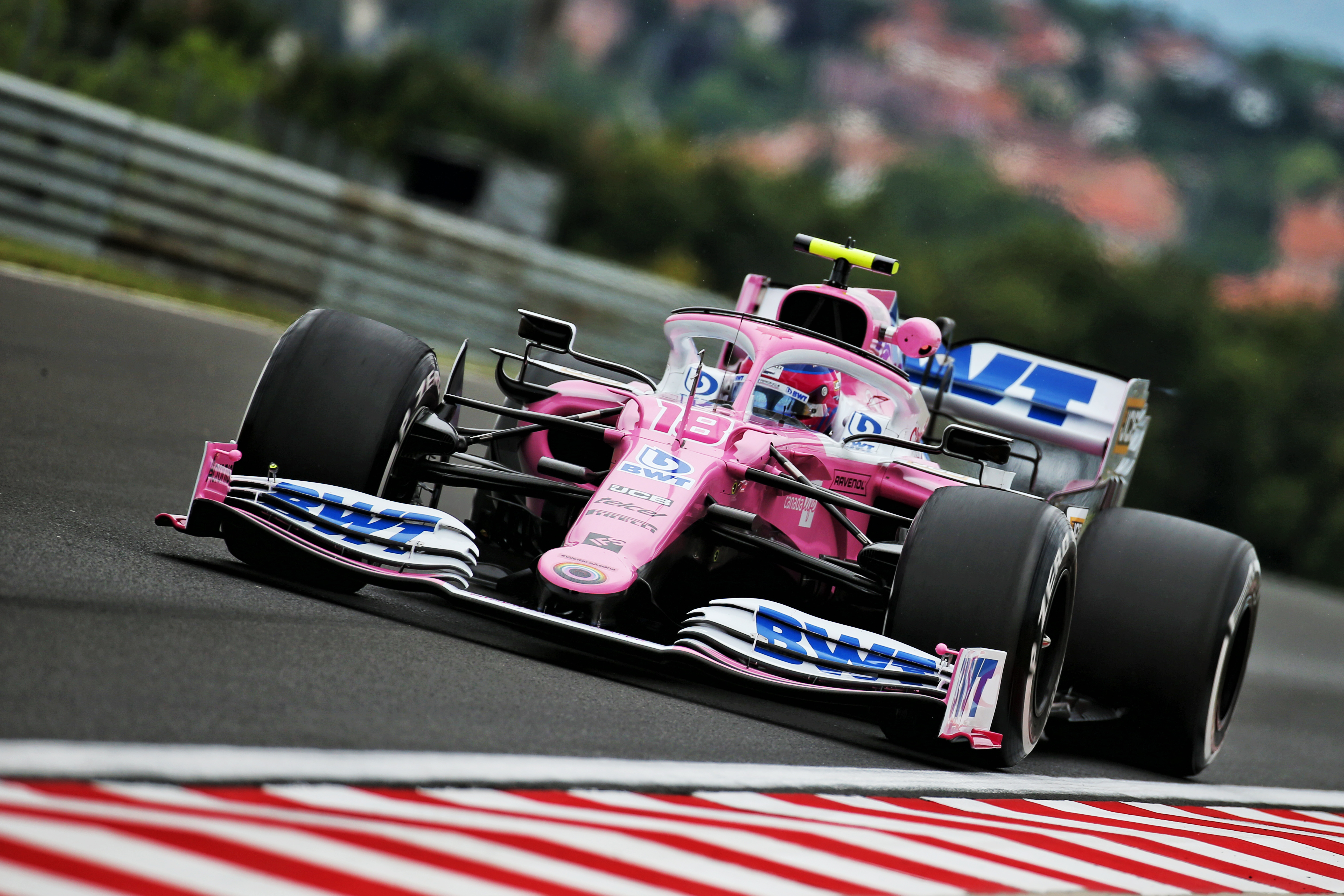 Lance Stroll Racing Point Hungarian Grand Prix 2020