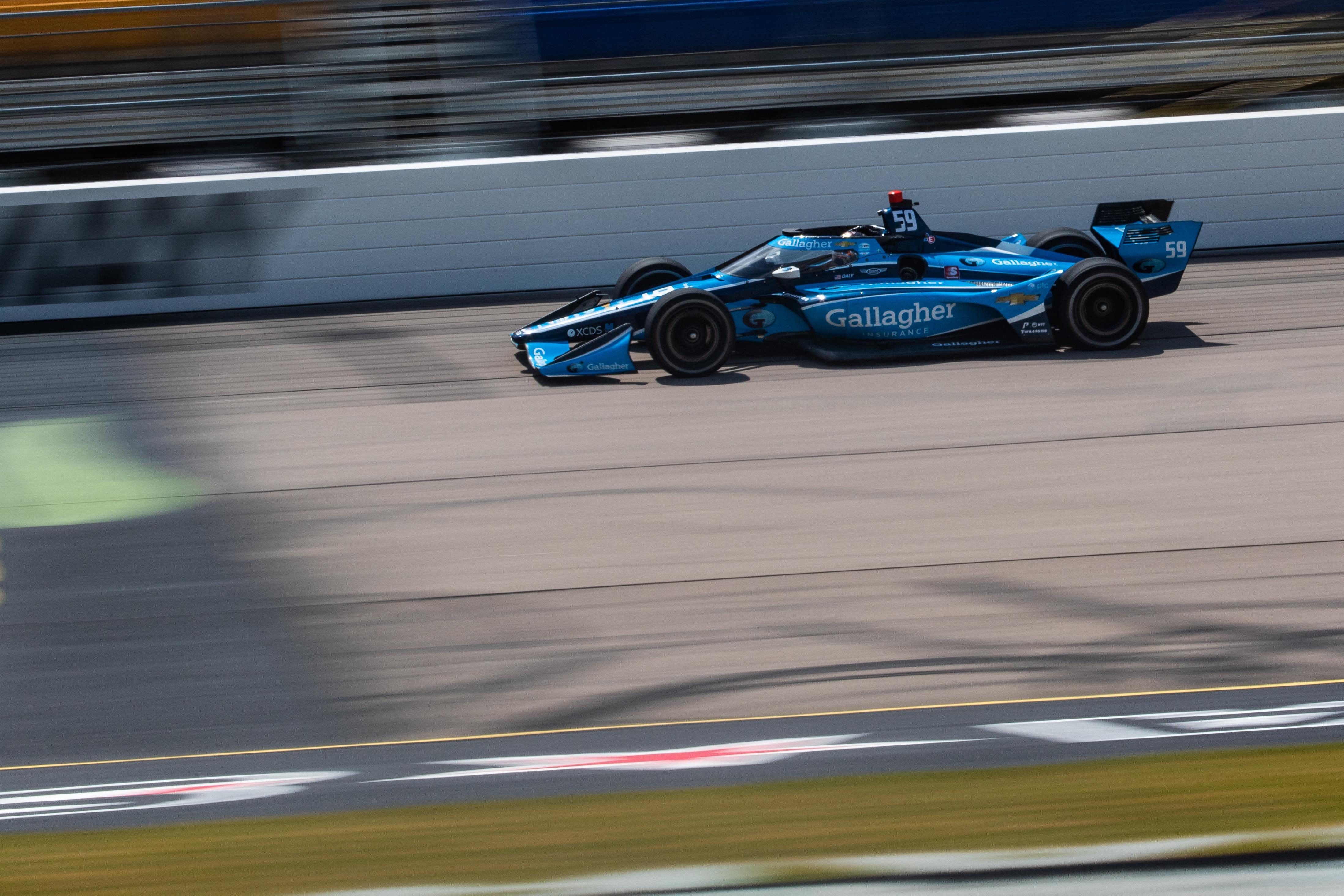 Conor Daly Carlin Iowa IndyCar 2020