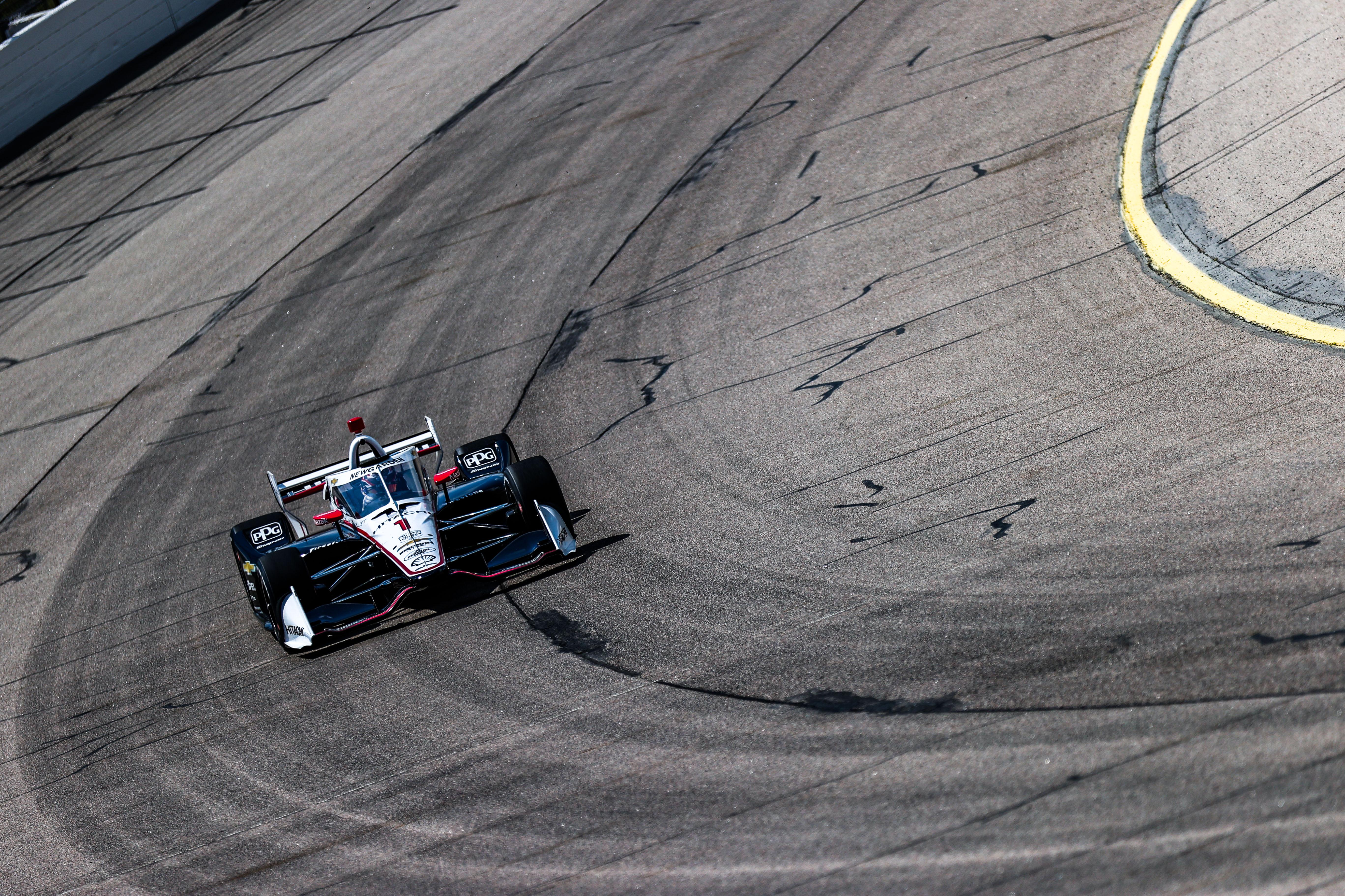 Josef Newgarden Penske Iowa IndyCar 2020