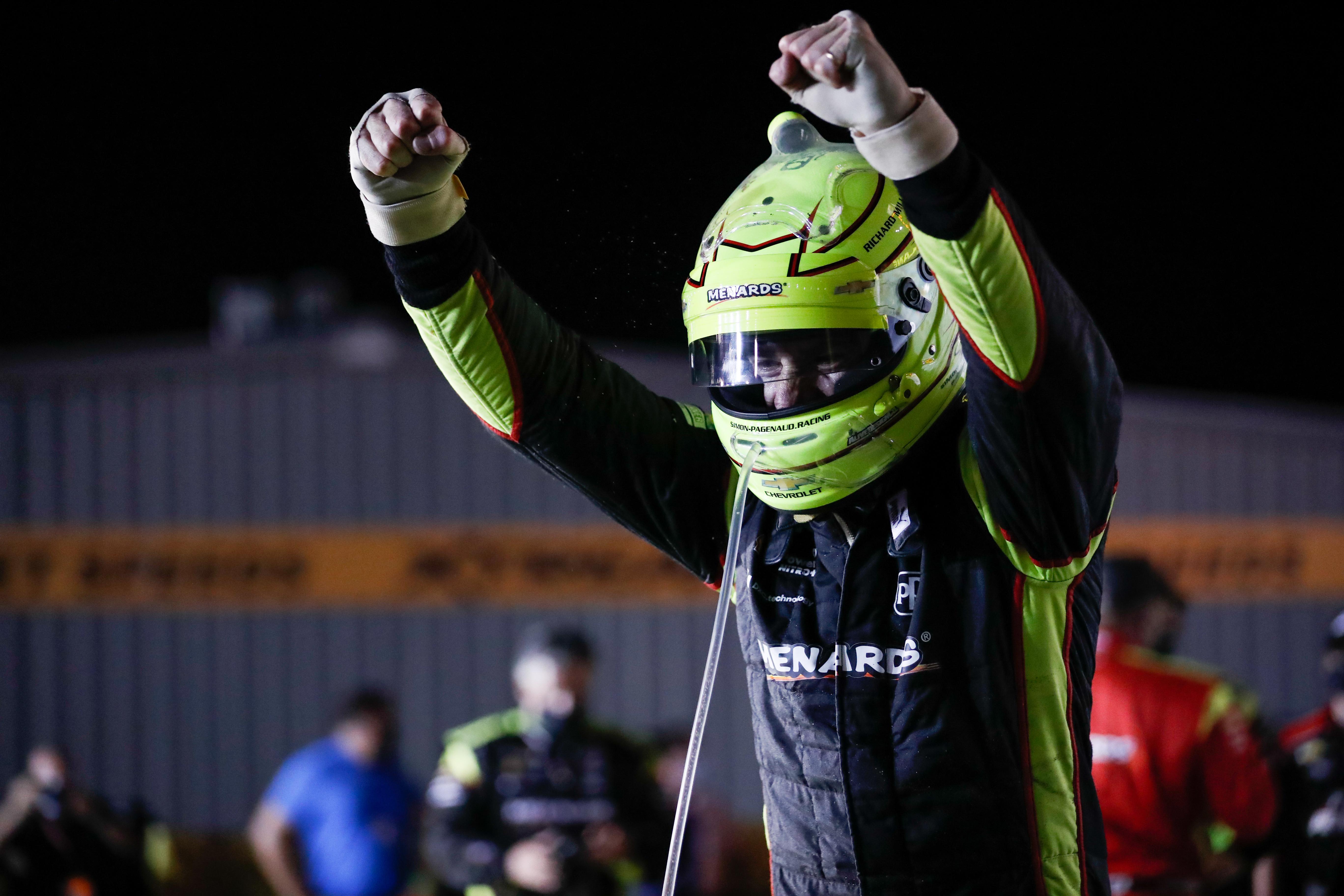 Simon Pagenaud wins Iowa IndyCar 2020