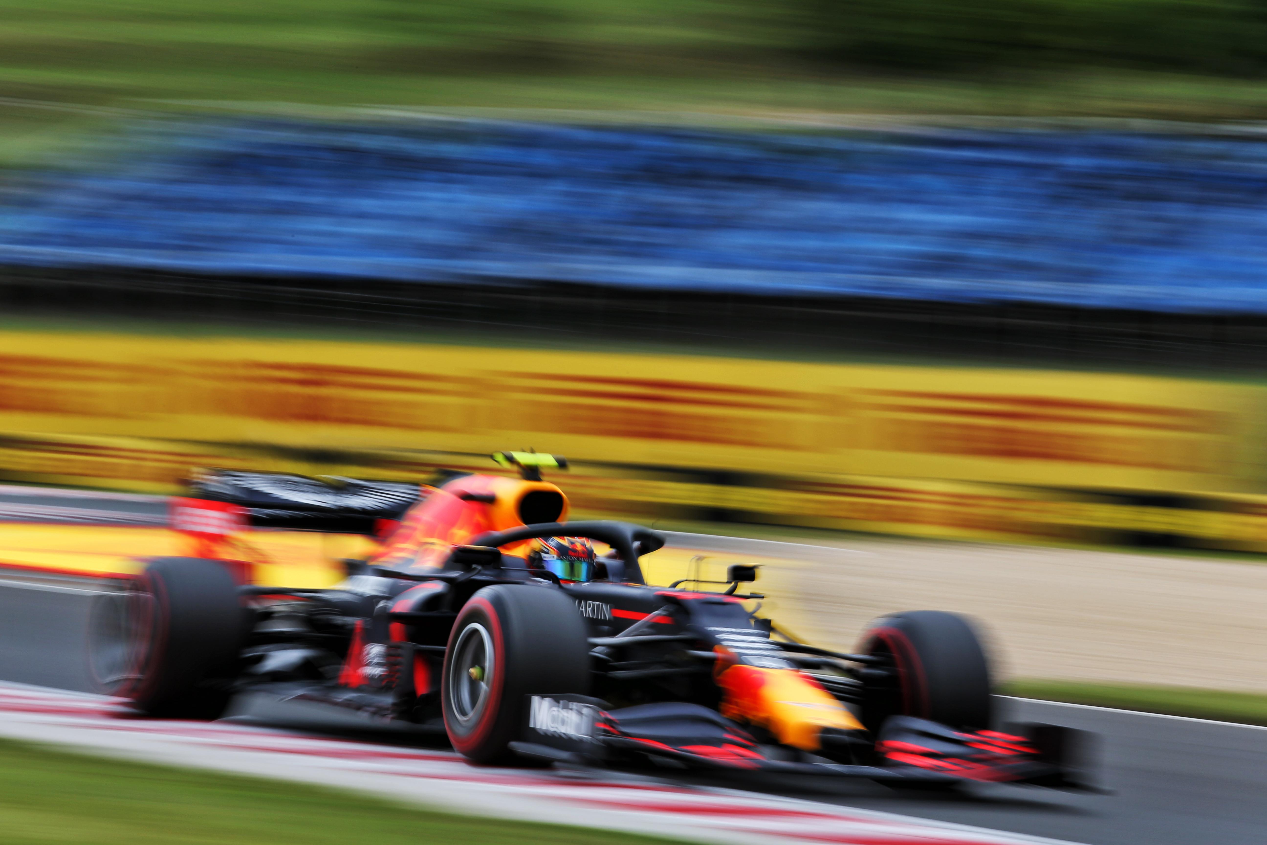 Alex Albon Red Bull F1 Hungary 2020