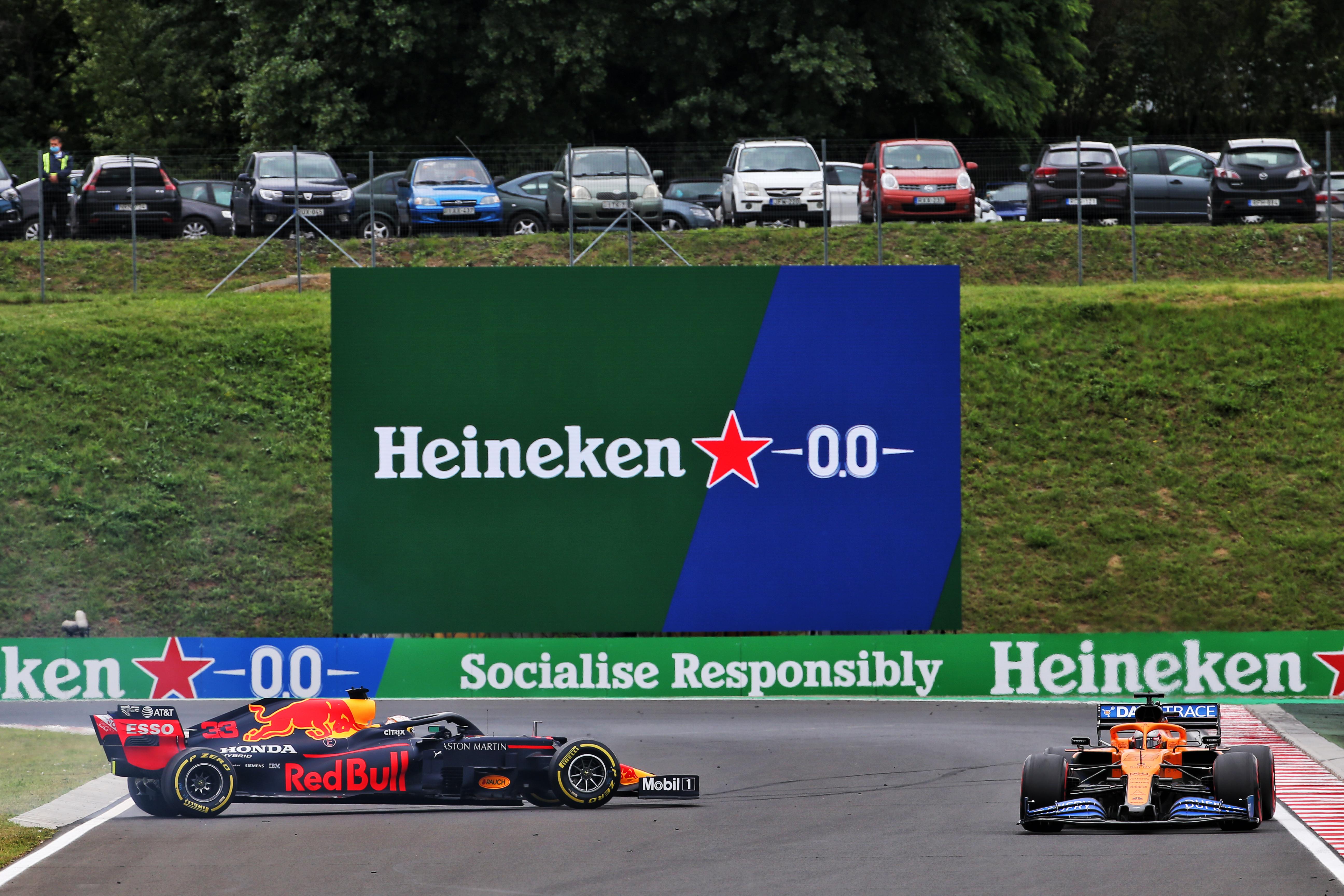 Max Verstappen Red Bull F1 Hungary 2020