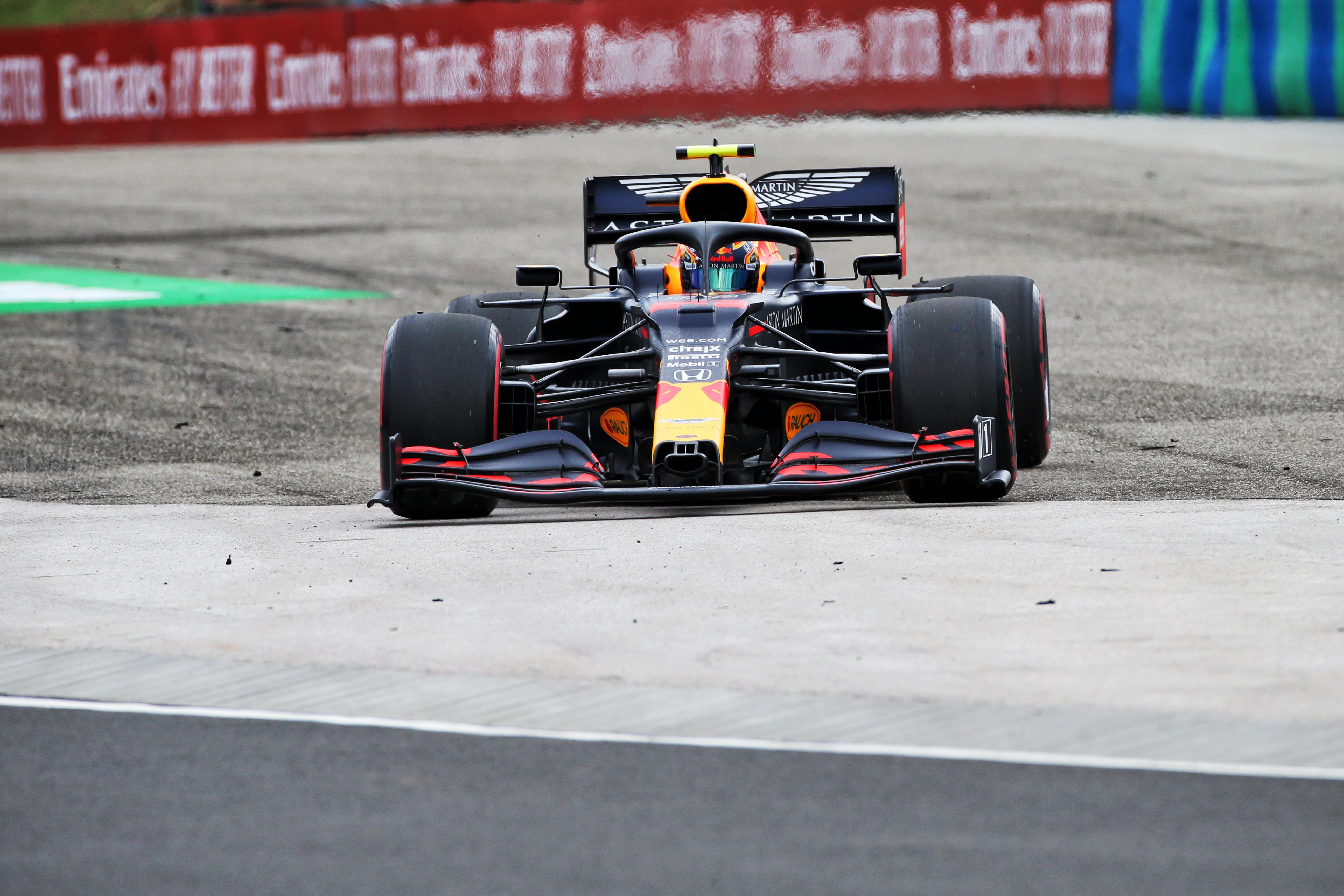 Alex Albon Red Bull Hungary F1 2020
