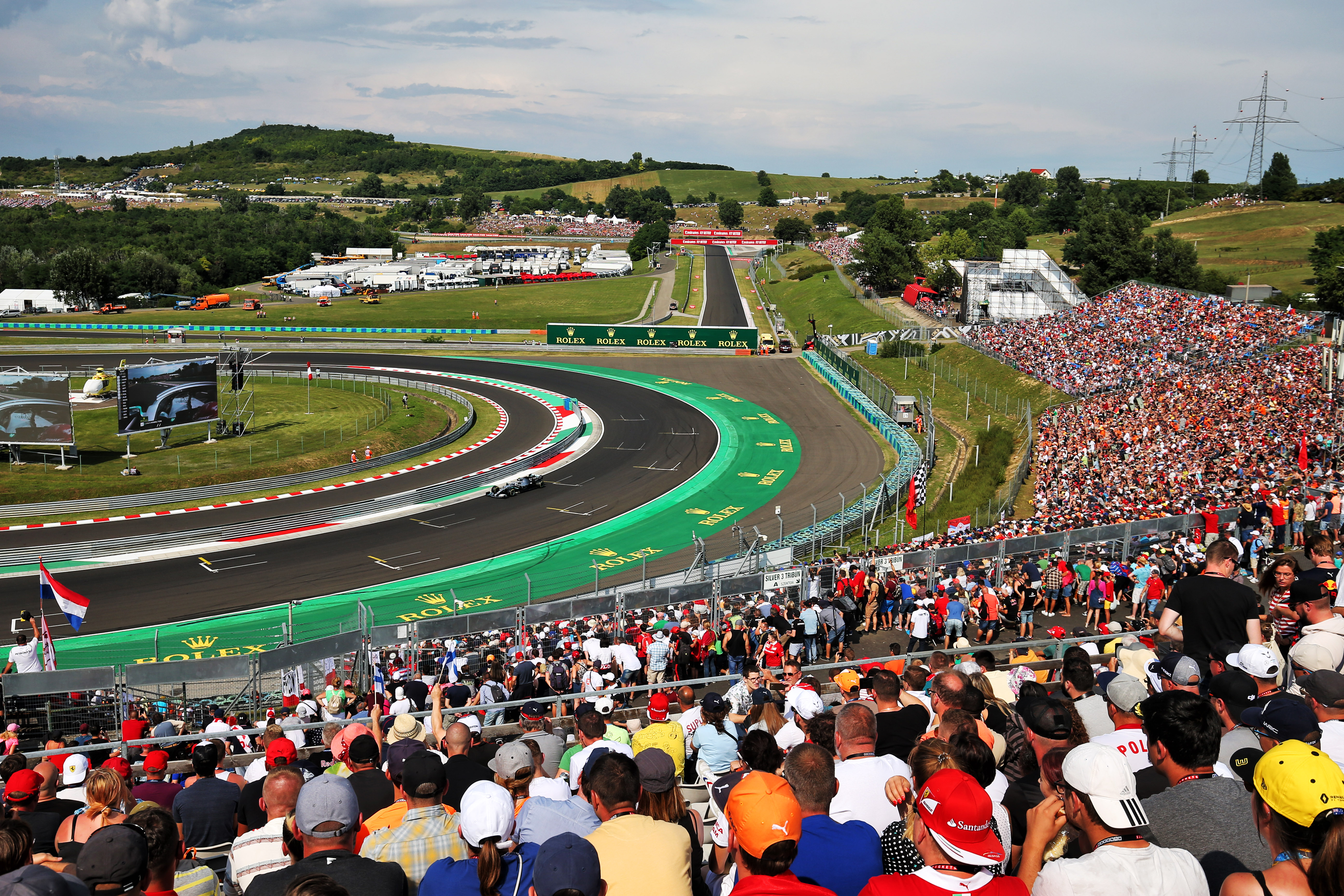 Valtteri Bottas Mercedes Hungarian Grand Prix 2019