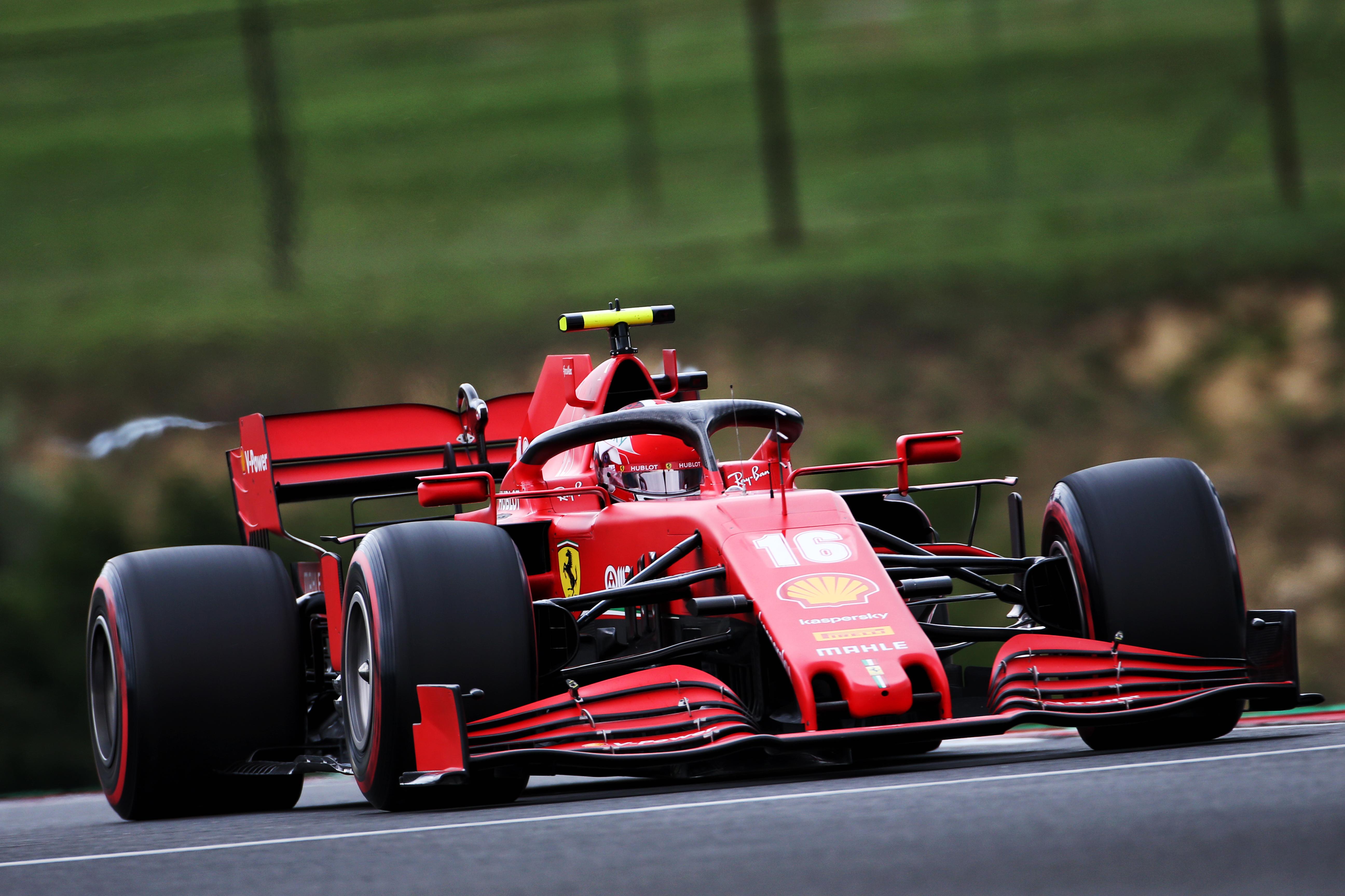 Charles Leclerc Ferrari Hungarian Grand Prix 2020