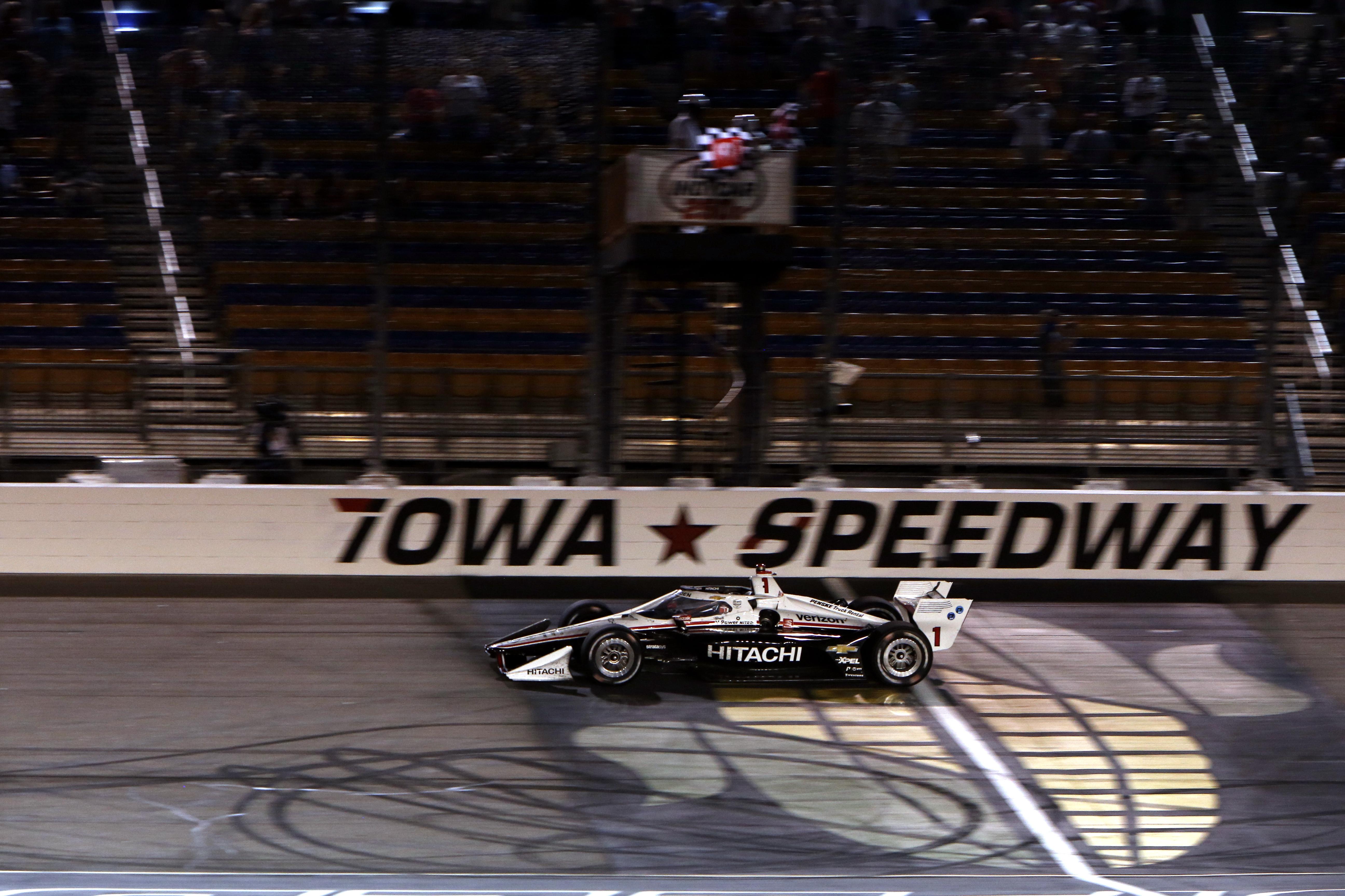 Josef Newgarden Penske wins Iowa IndyCar 2020