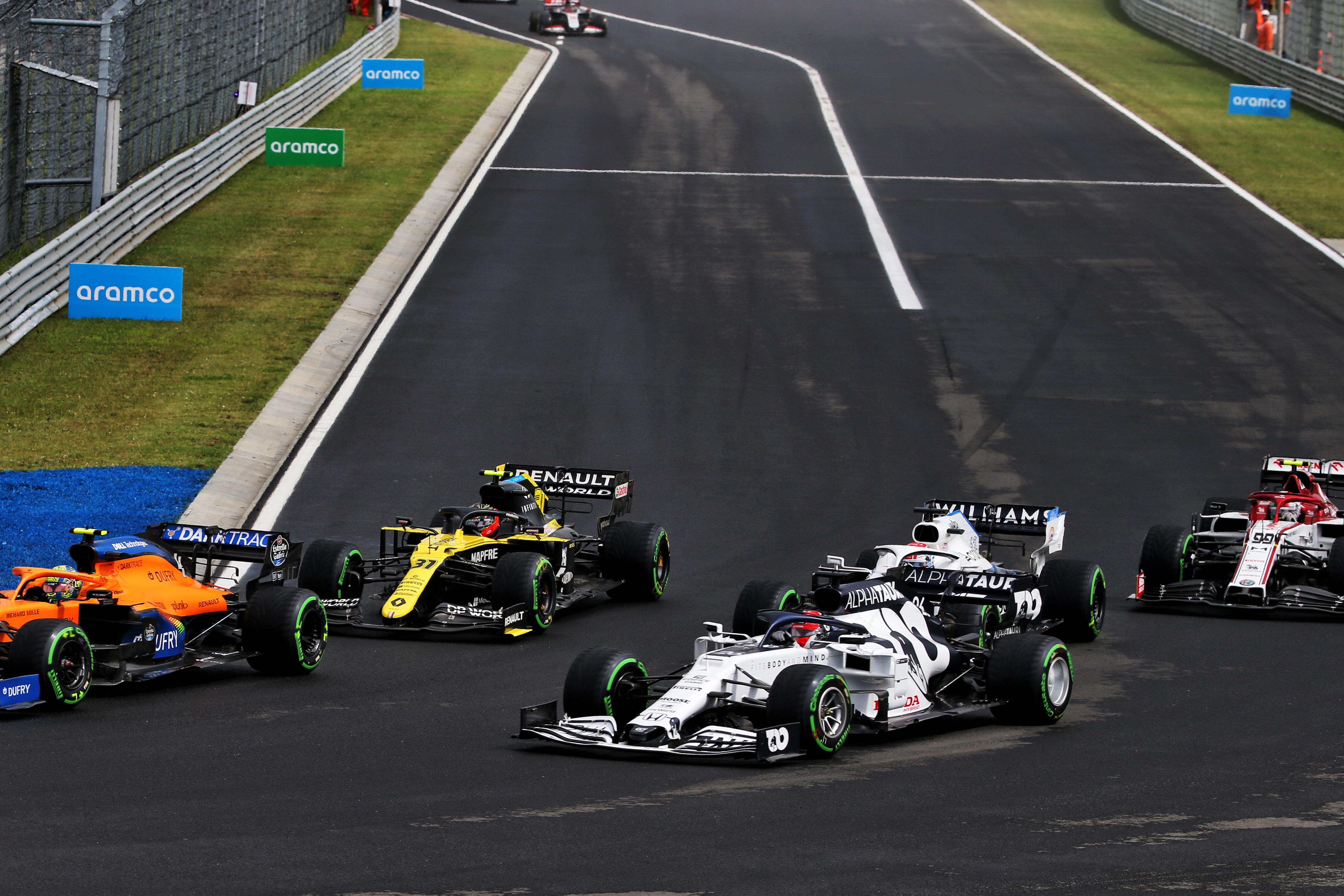 Daniil Kvyat AlphaTauri Hungarian Grand Prix 2020