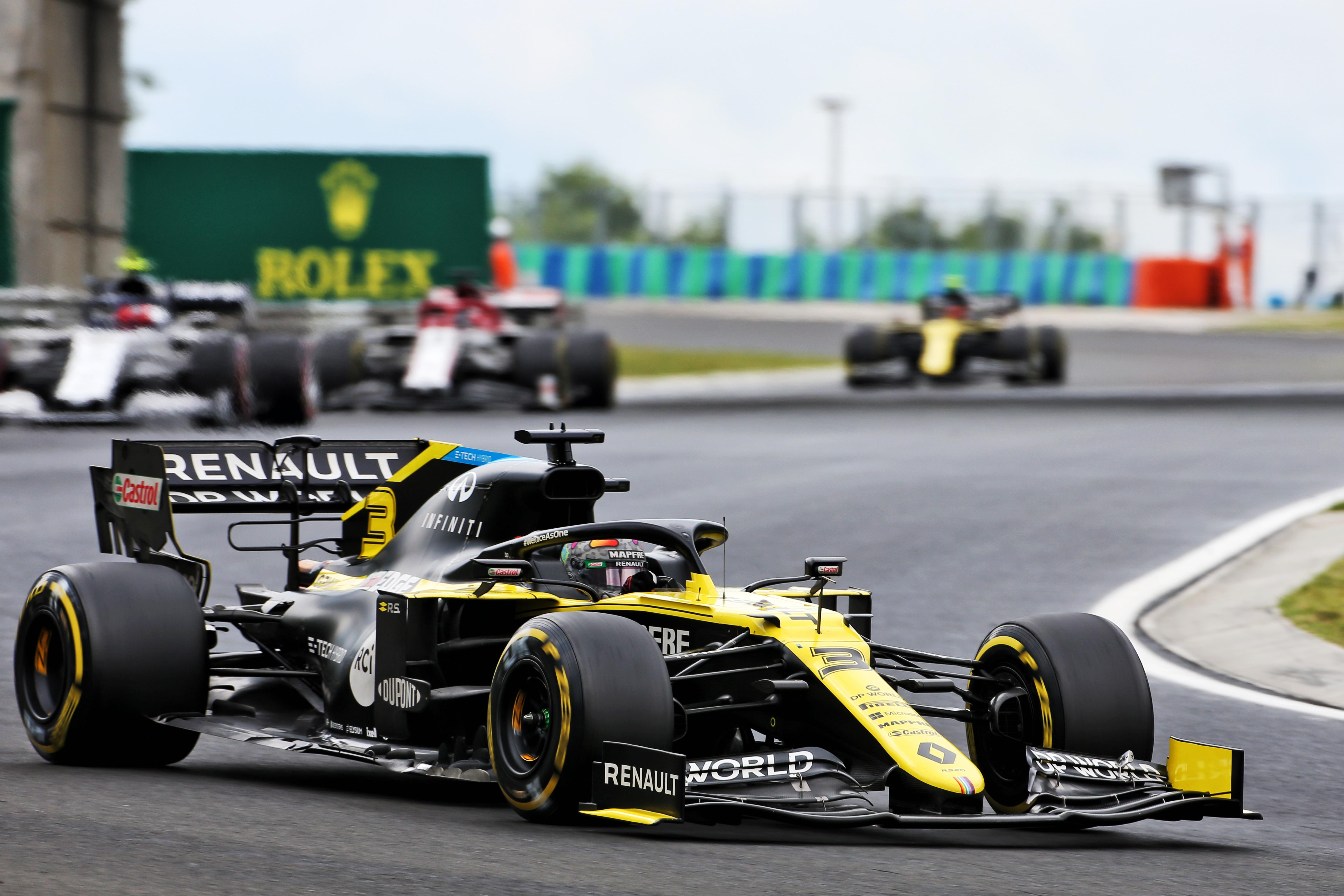 Daniel Ricciardo Renault Hungarian Grand Prix 2020