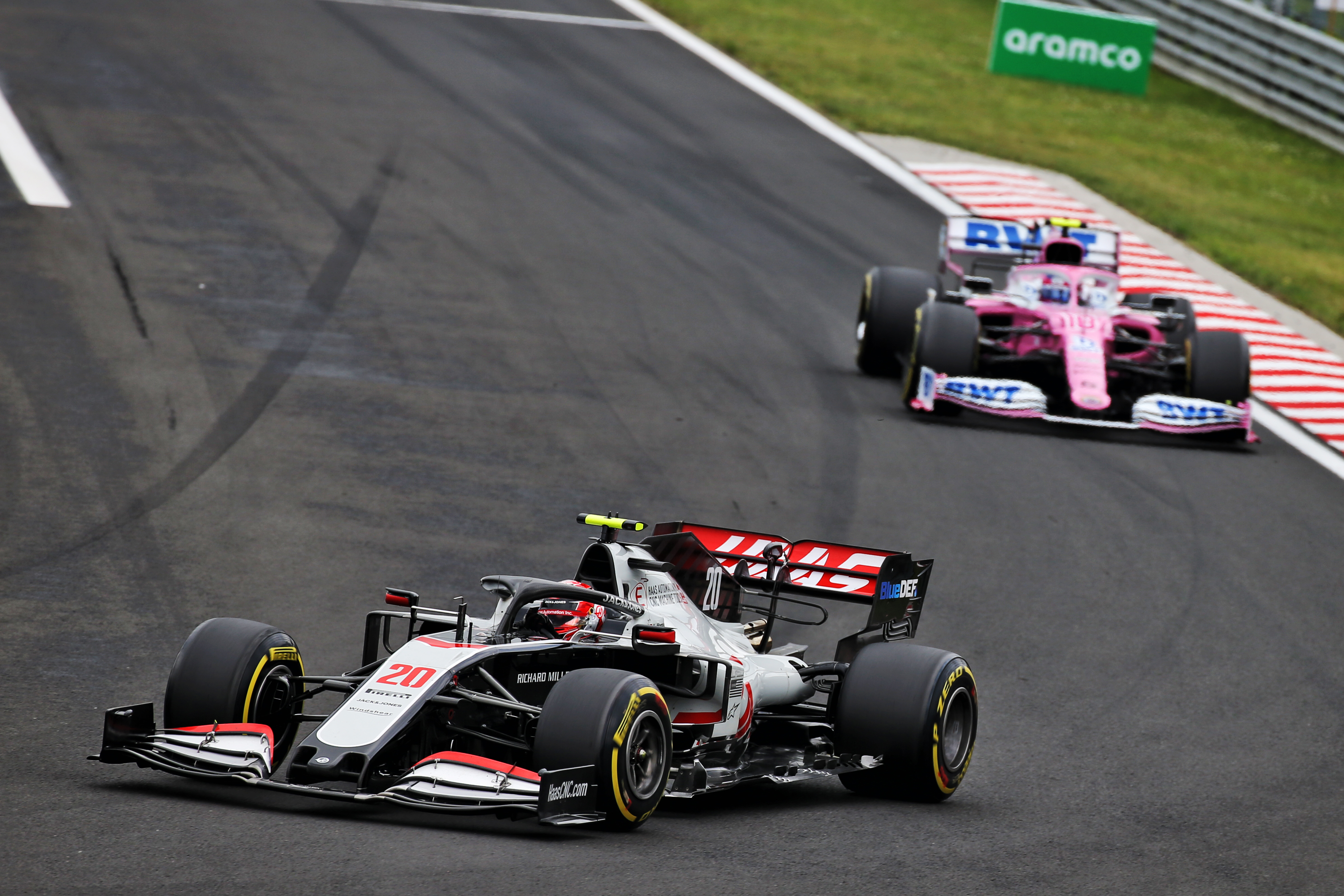 Kevin Magnussen Haas Hungarian Grand Prix 2020