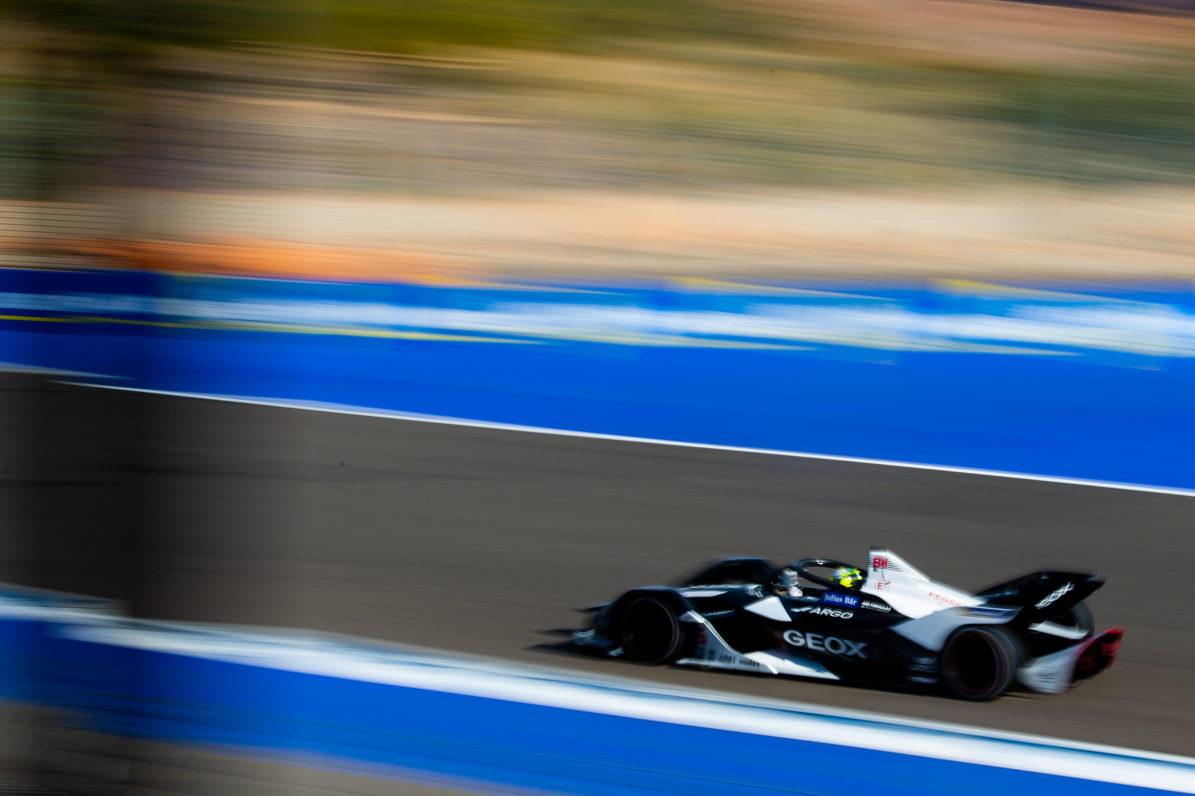 Sergio Sette Camara Dragon Marrakesh Formula E test 2020