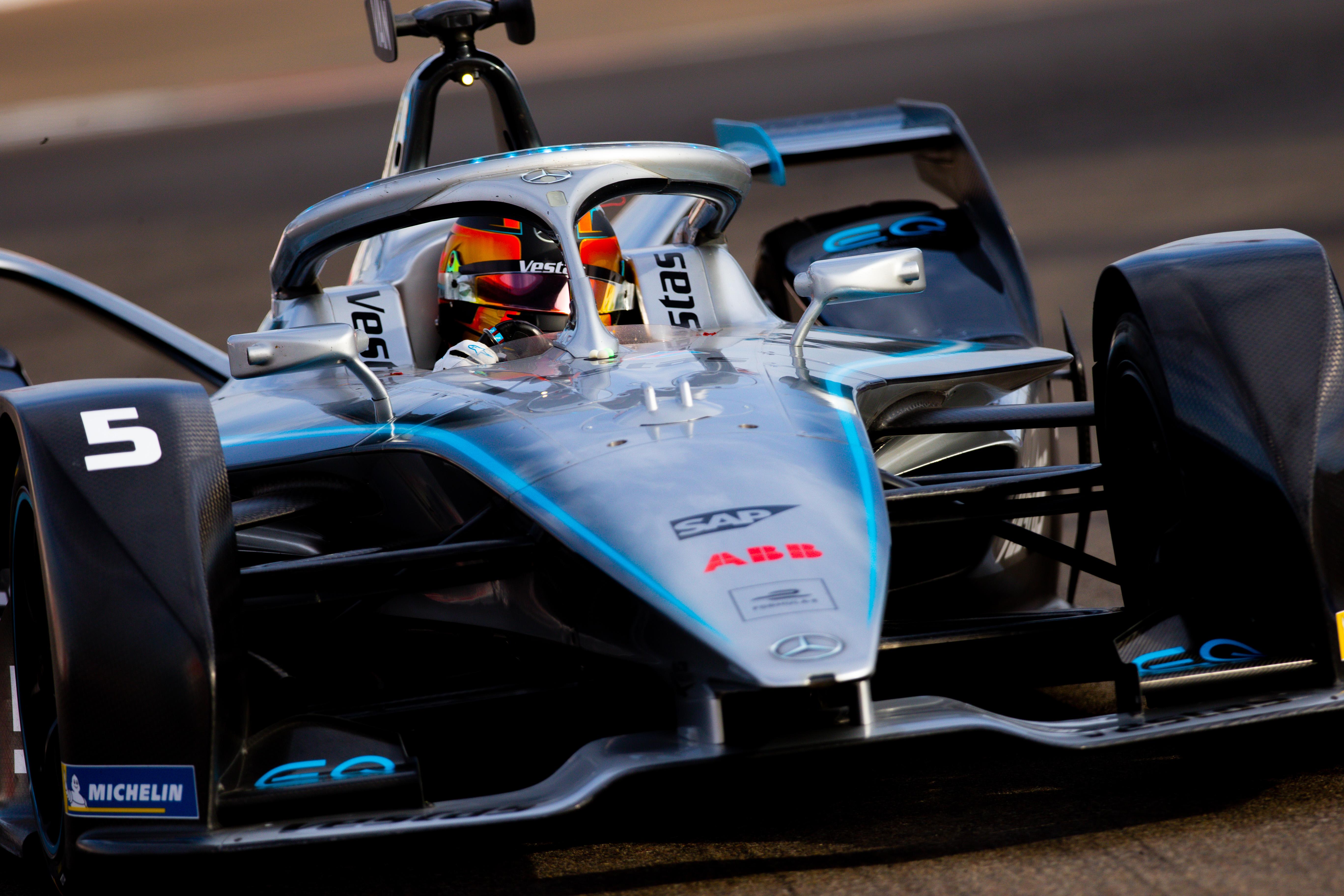 Stoffel Vandoorne Mercedes Formula E 2020