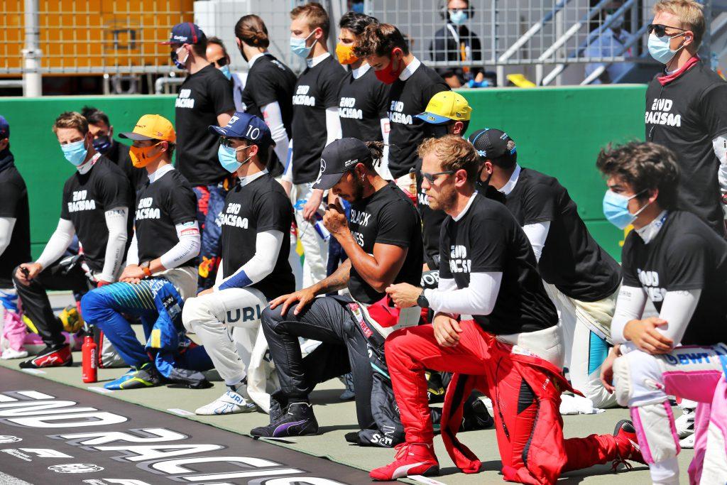 F1 drivers anti-racism