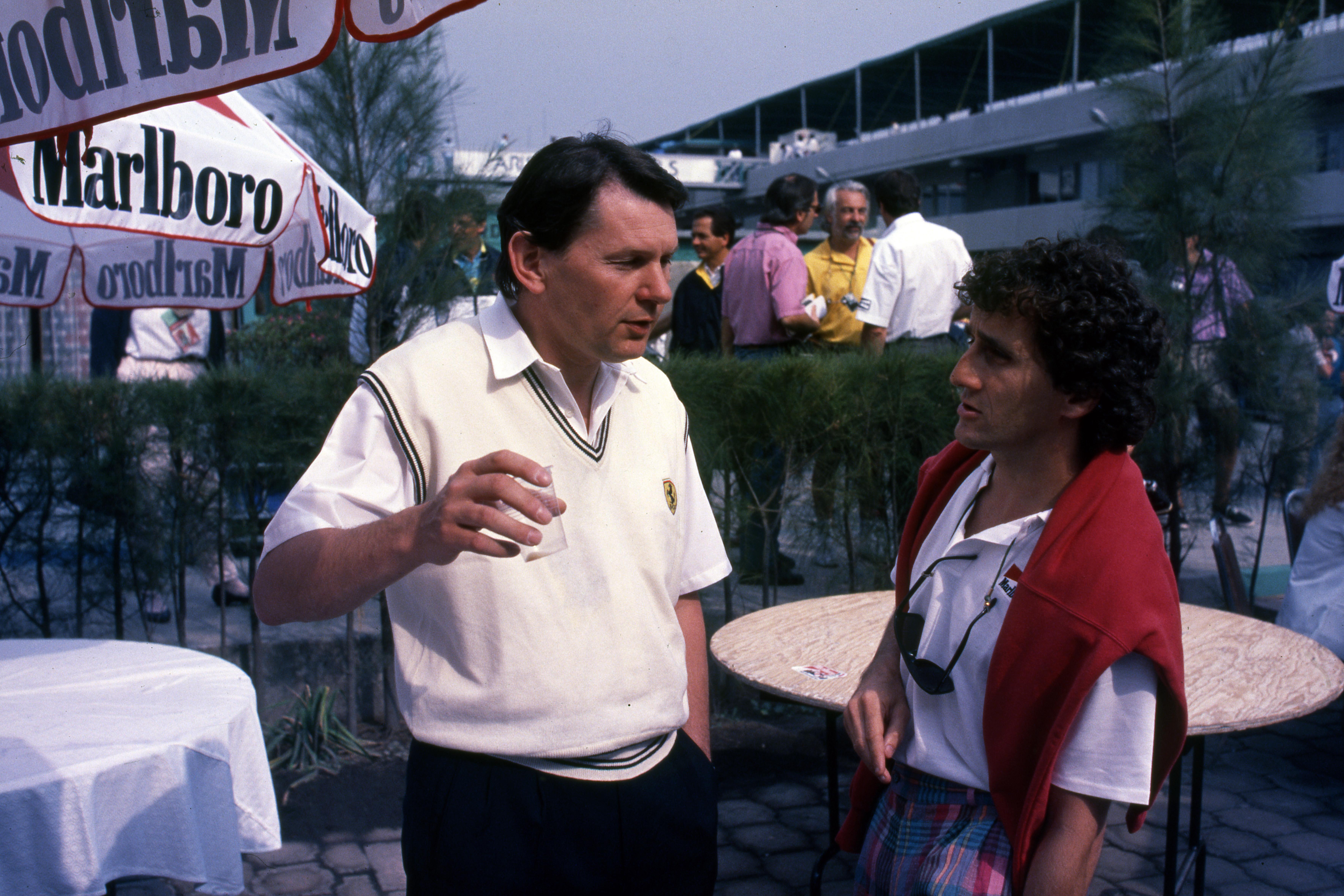 John Barnard Alain Prost 1989