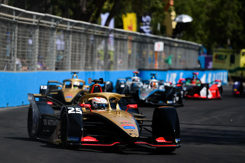 Jean-Eric Vergne DS Techeetah Santiago Formula E 2020