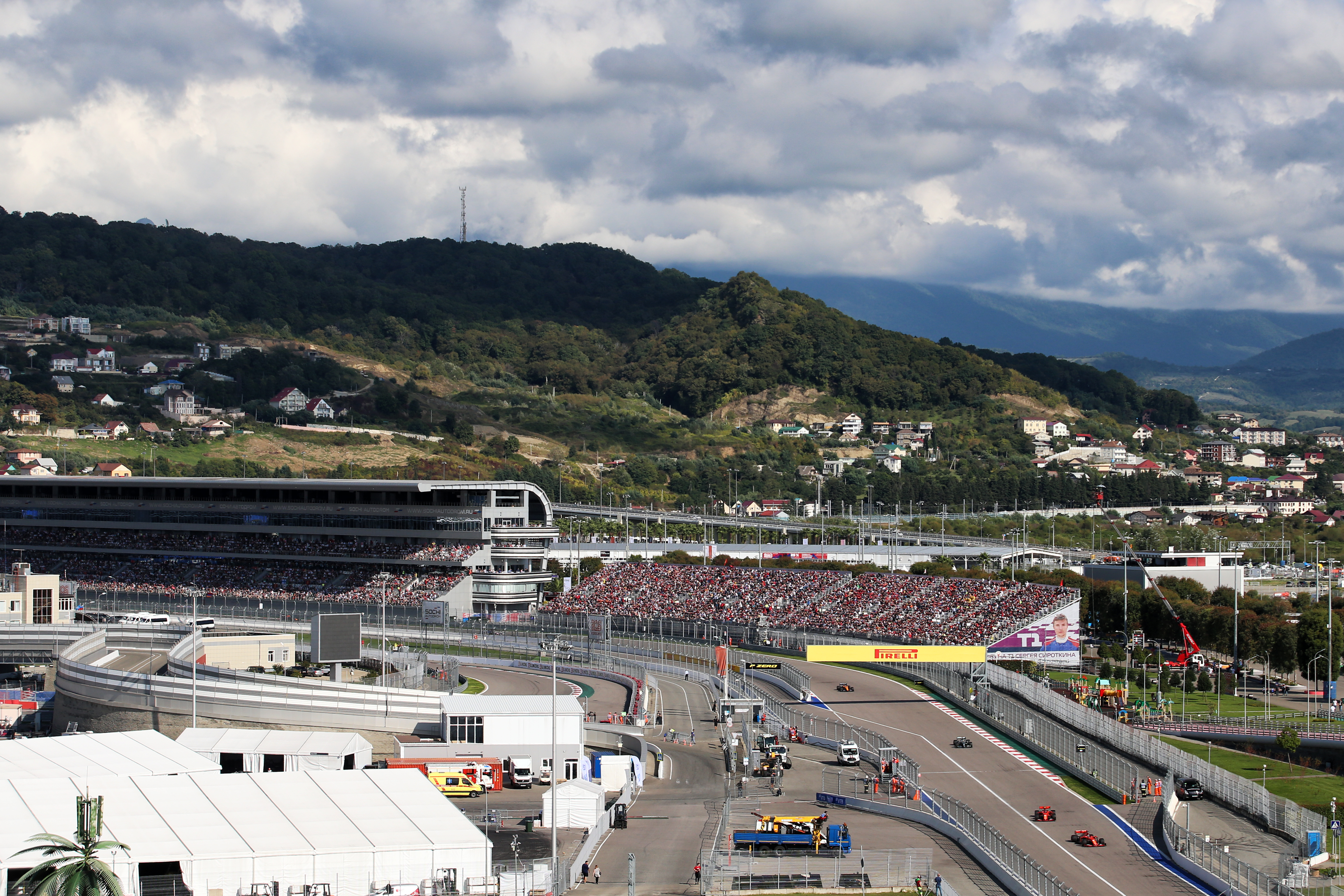 Motor Racing Formula One World Championship Russian Grand Prix Race Day Sochi, Russia