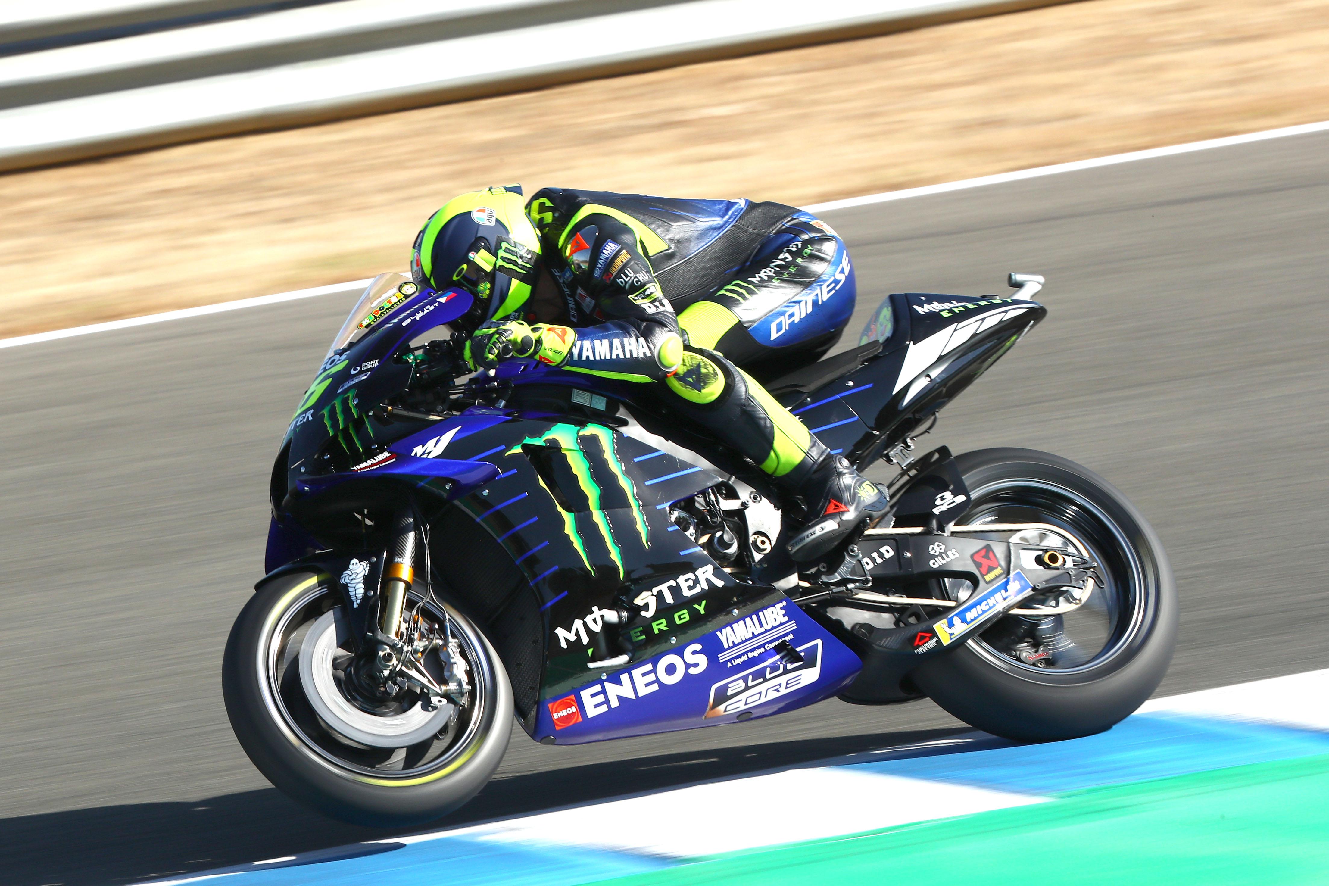 Valentino Rossi MotoGP Yamaha Jerez 2020