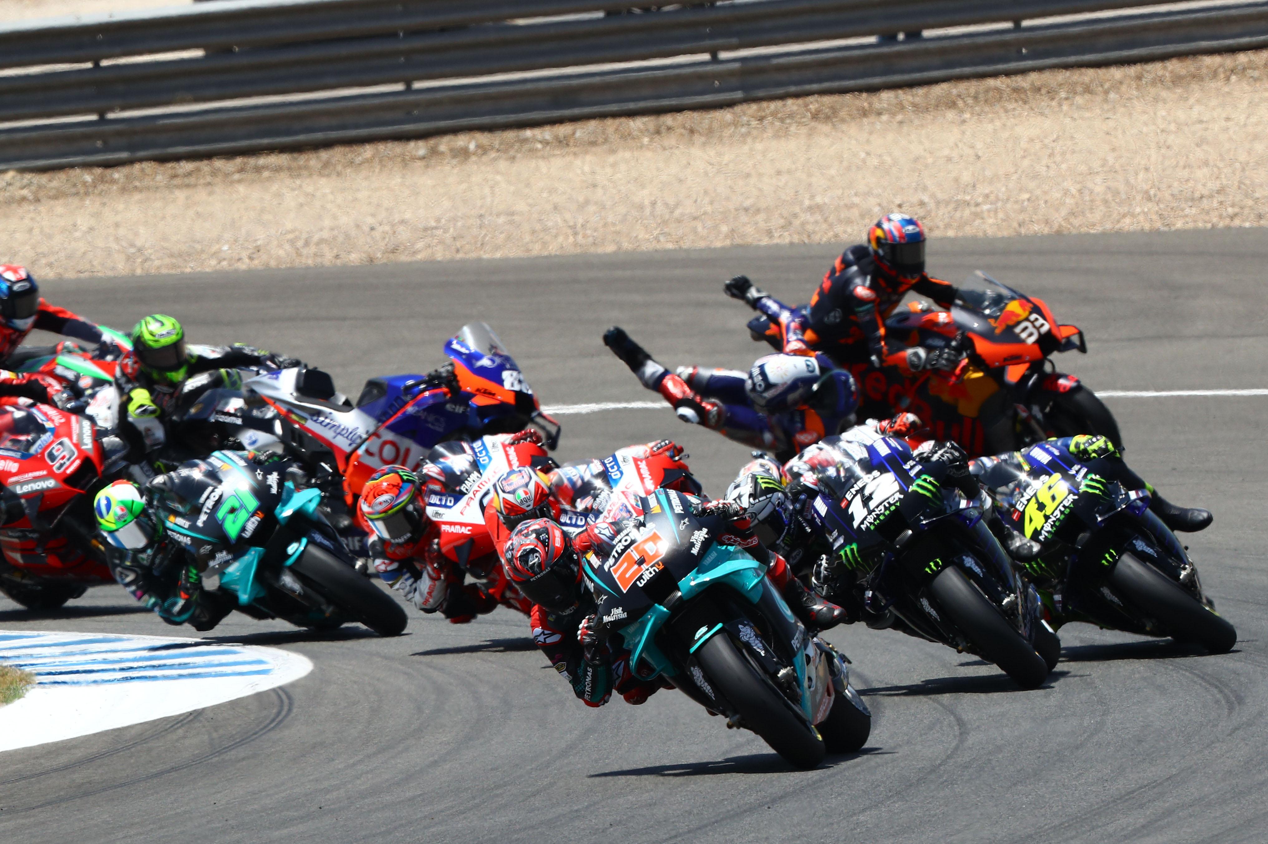 Fabio Quartararo MotoGp Yamaha Jerez 2020
