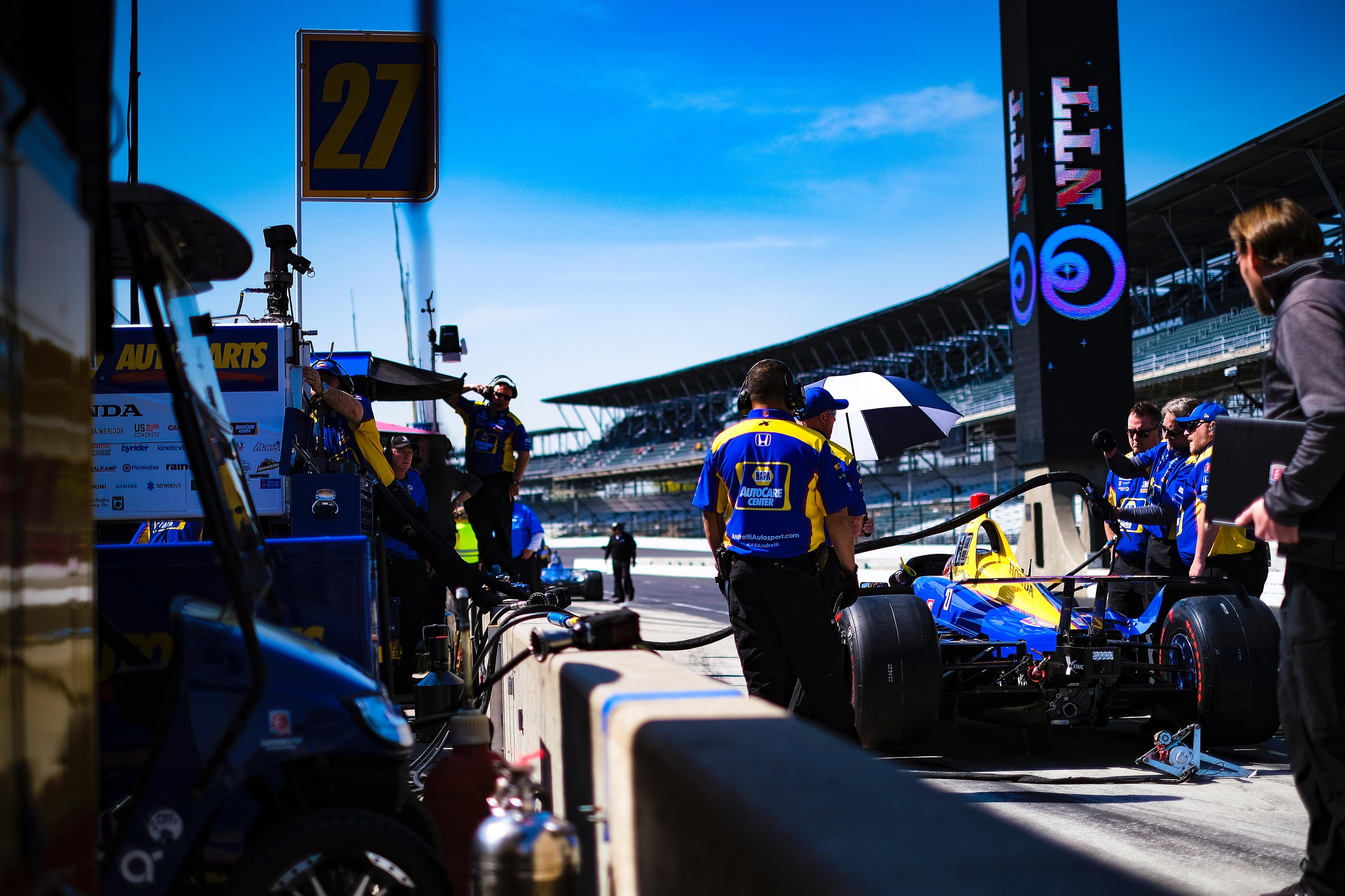 Indianapolis 500 practice 2019
