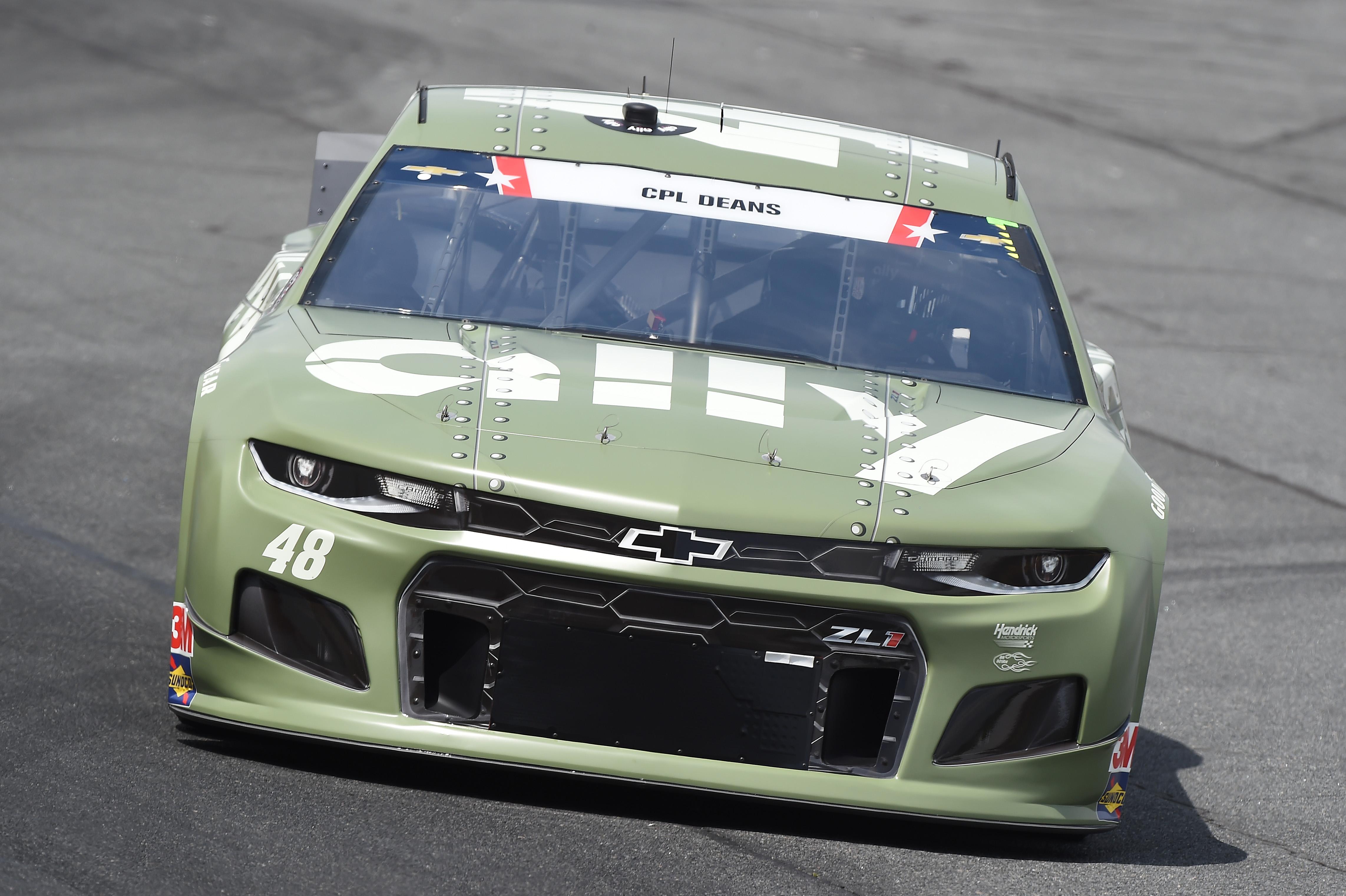 Jimmie Johnson Hendrick Chevrolet NASCAR 2020