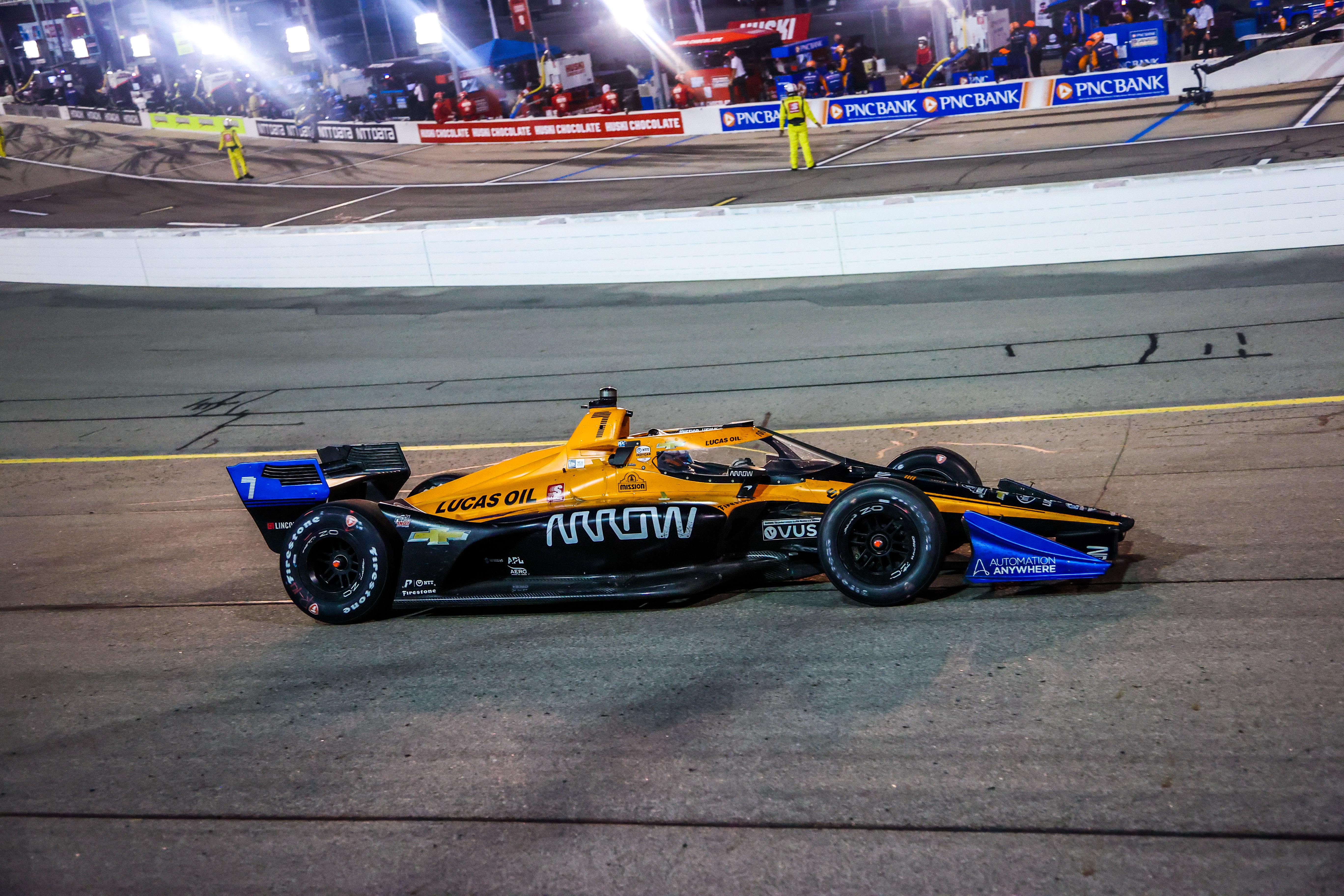 Oliver Askew Arrow McLaren SP Iowa IndyCar 2020