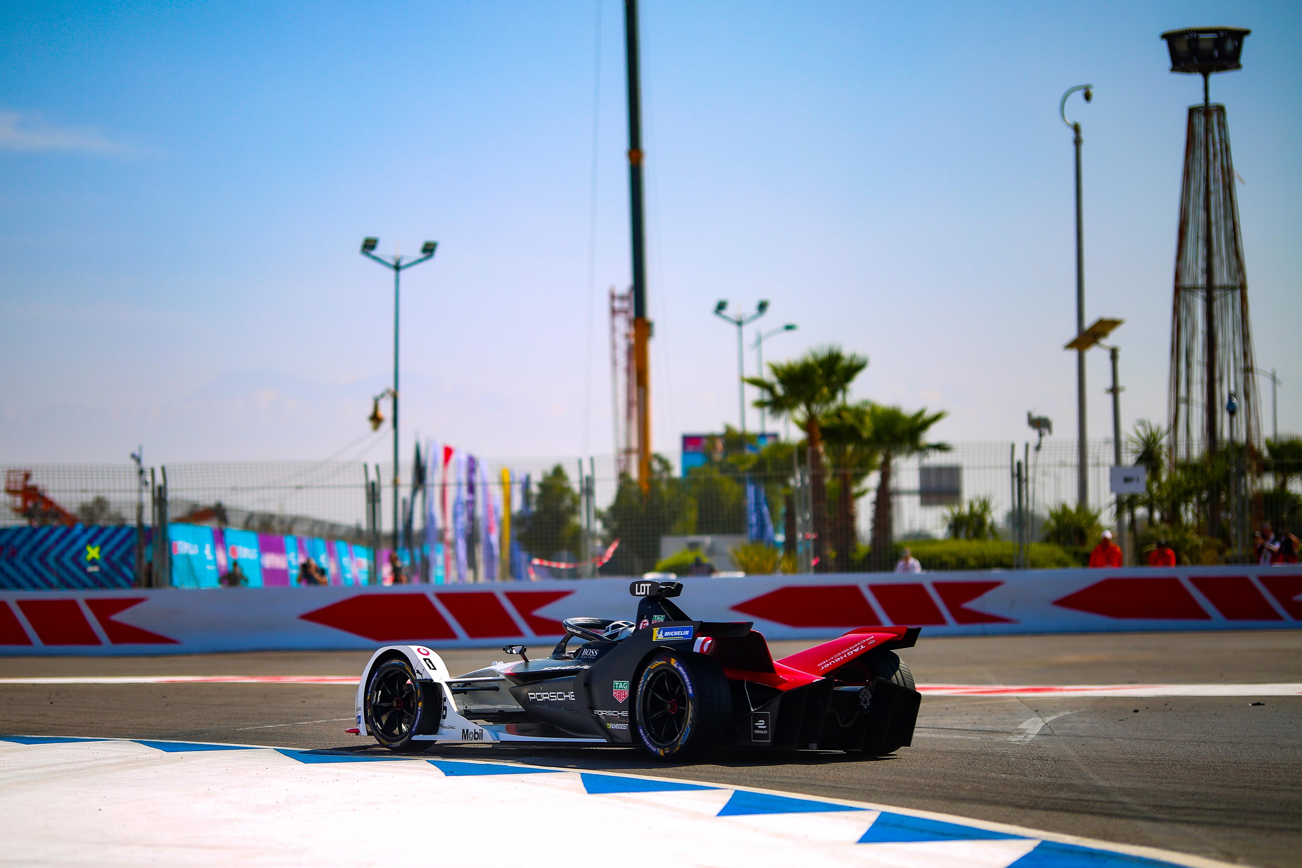 Andre Lotterer Porsche Marrakesh Formula E 2020