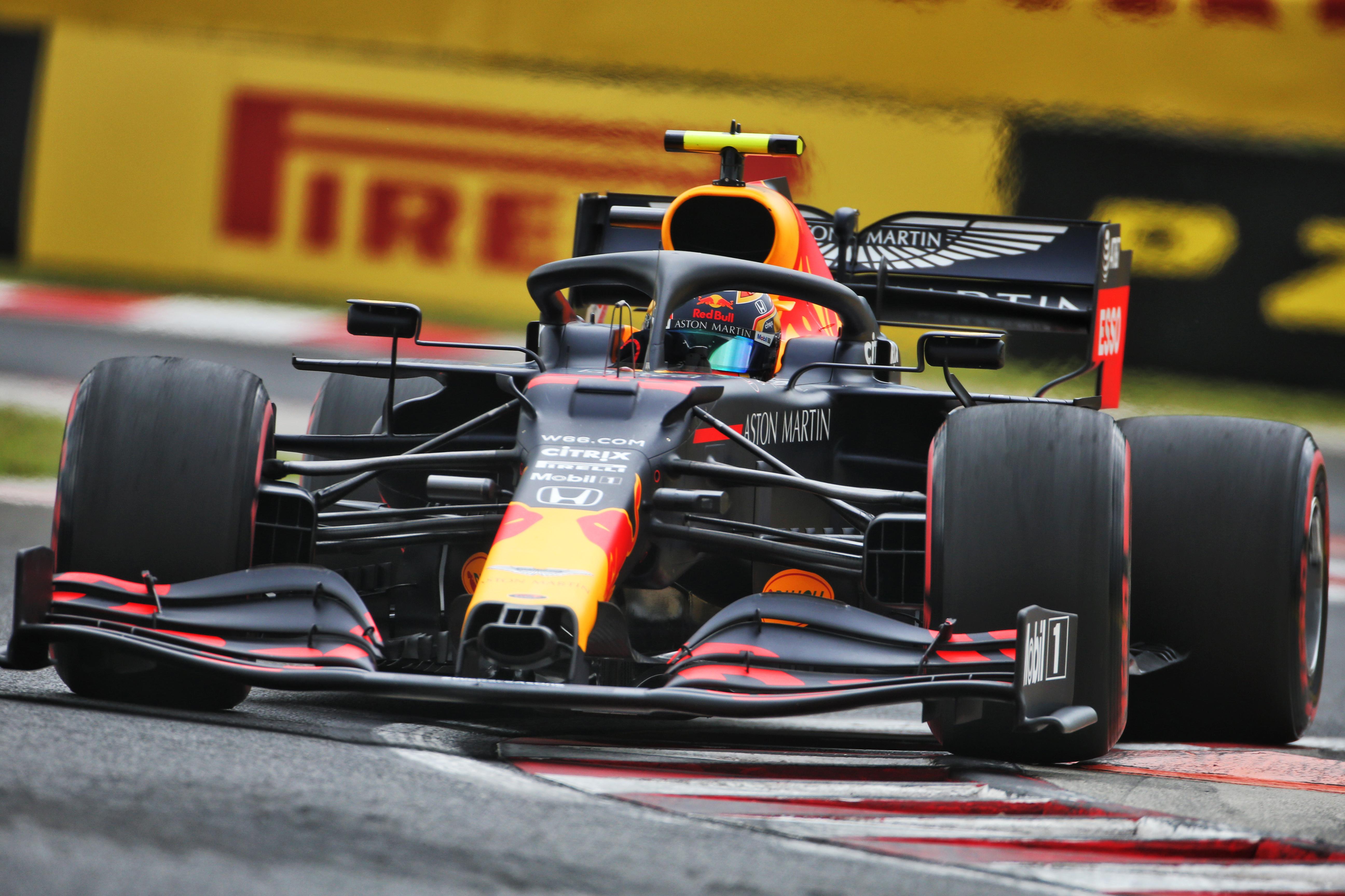 Alex Albon Simon Rennie Red Bull F1 2020