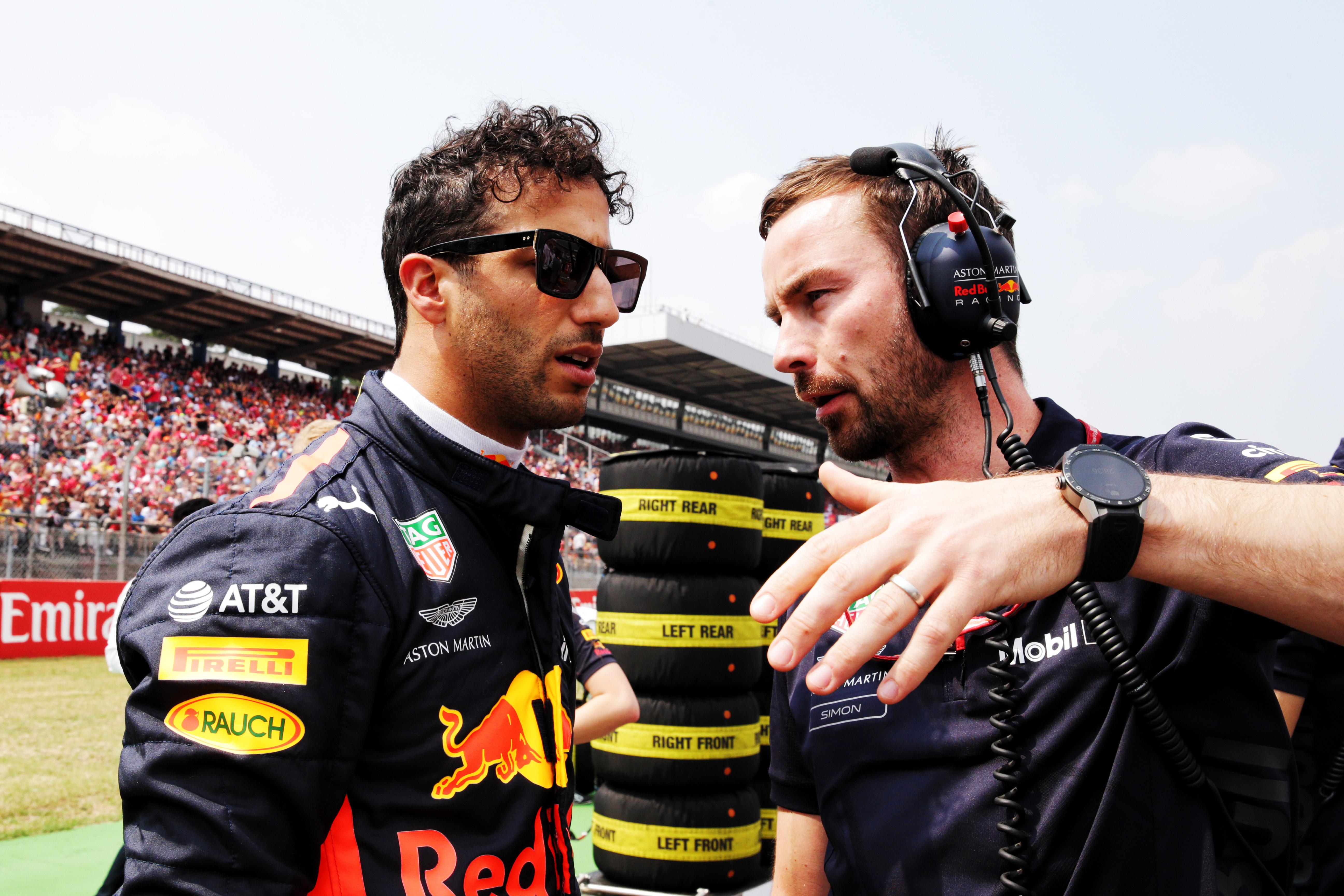 Simon Rennie Daniel Ricciardo F1 2020