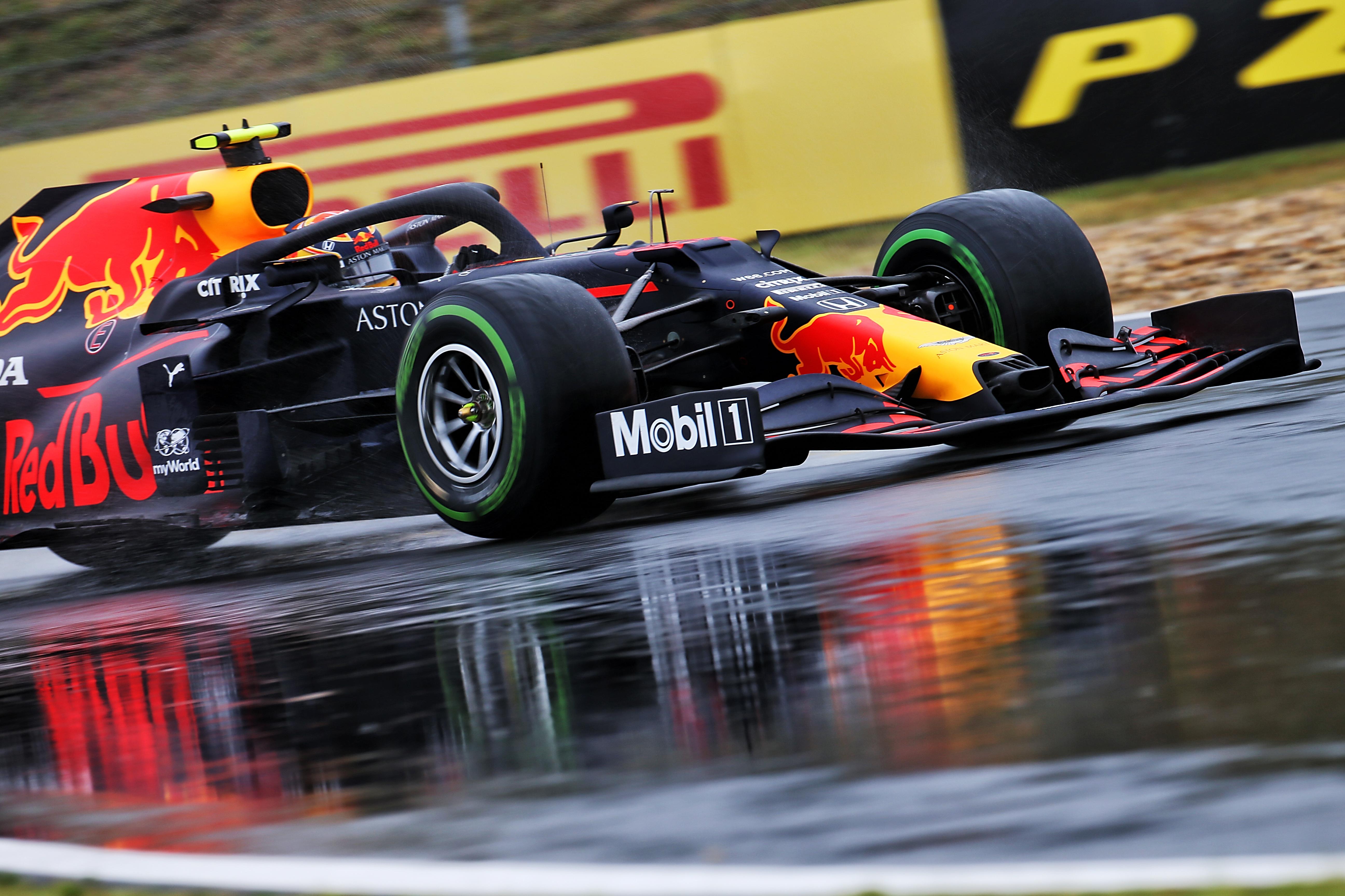 Alex Albon Red Bull Styrian Grand Prix qualifying 2020