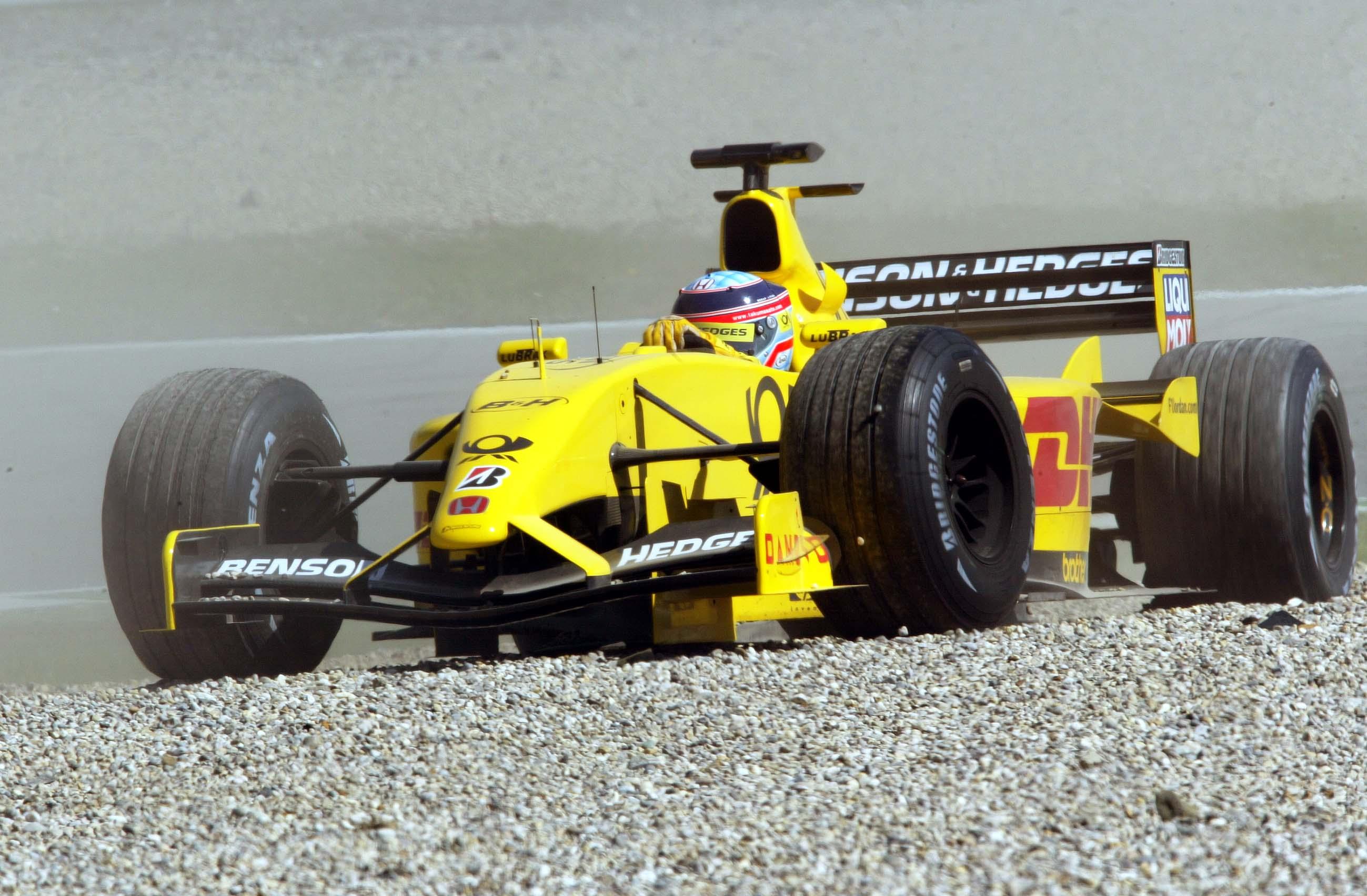 Takuma Sato Jordan 2002