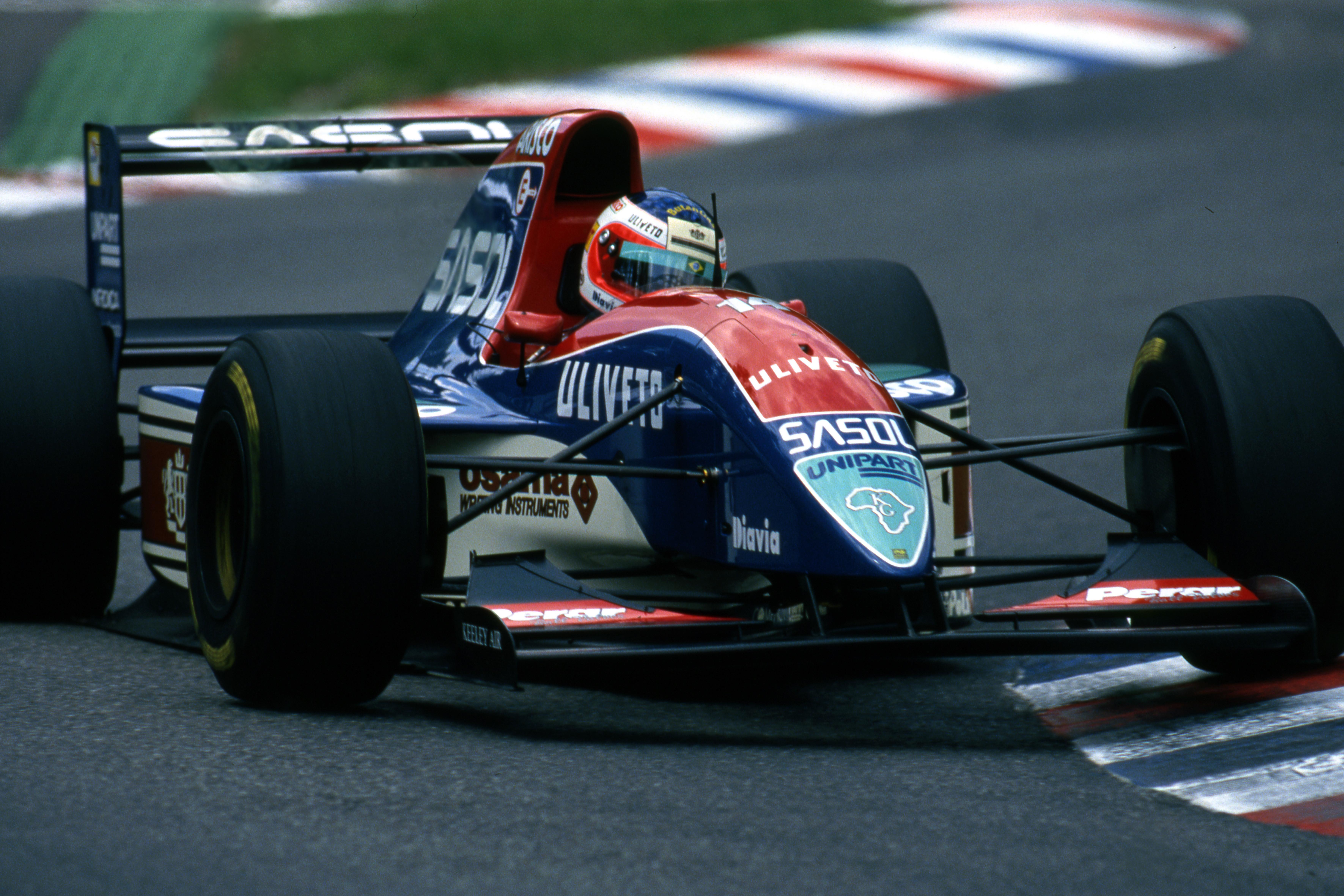 Rubens Barrichello Jordan 1993