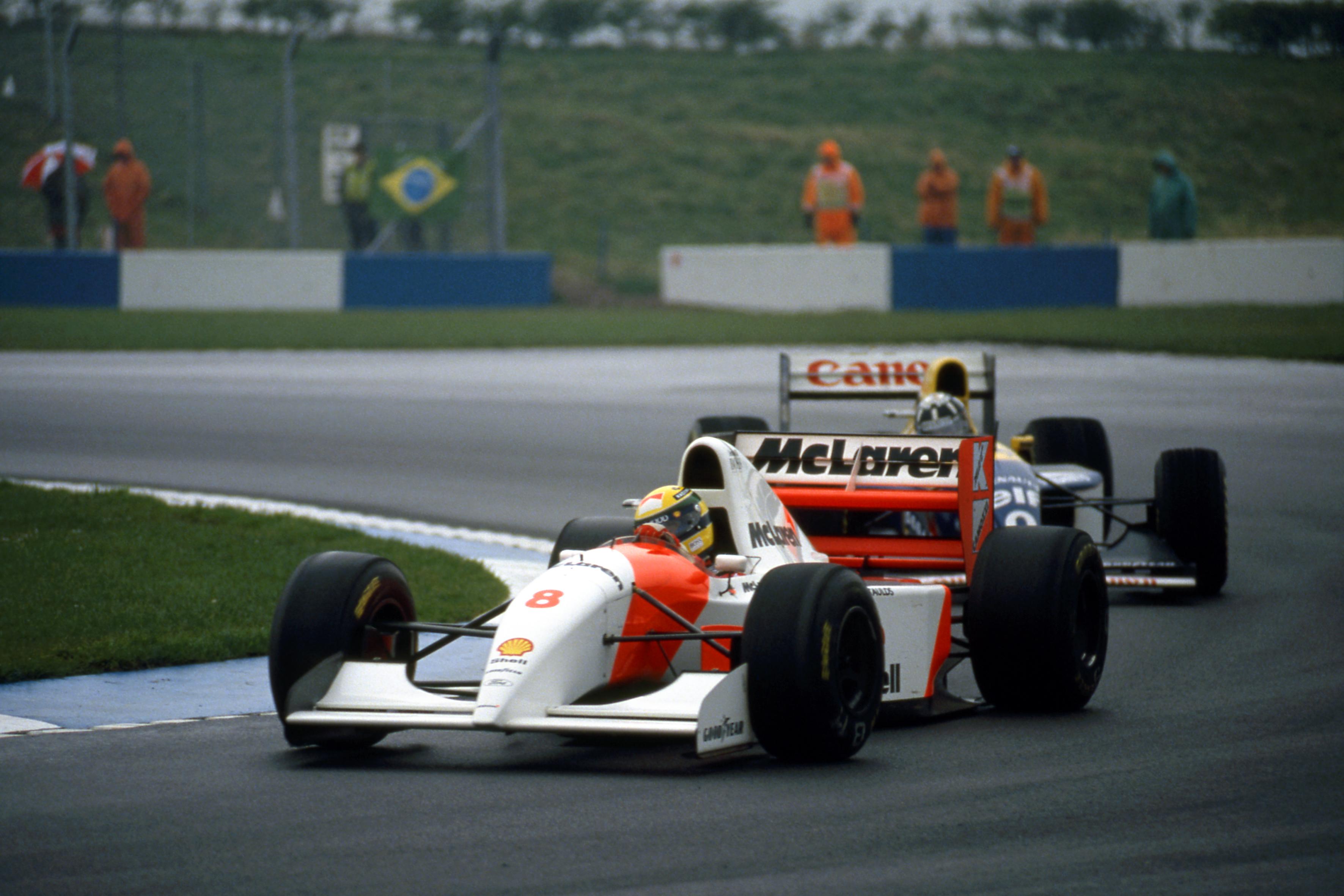 Ayrton Senna McLaren Donington Park 1993