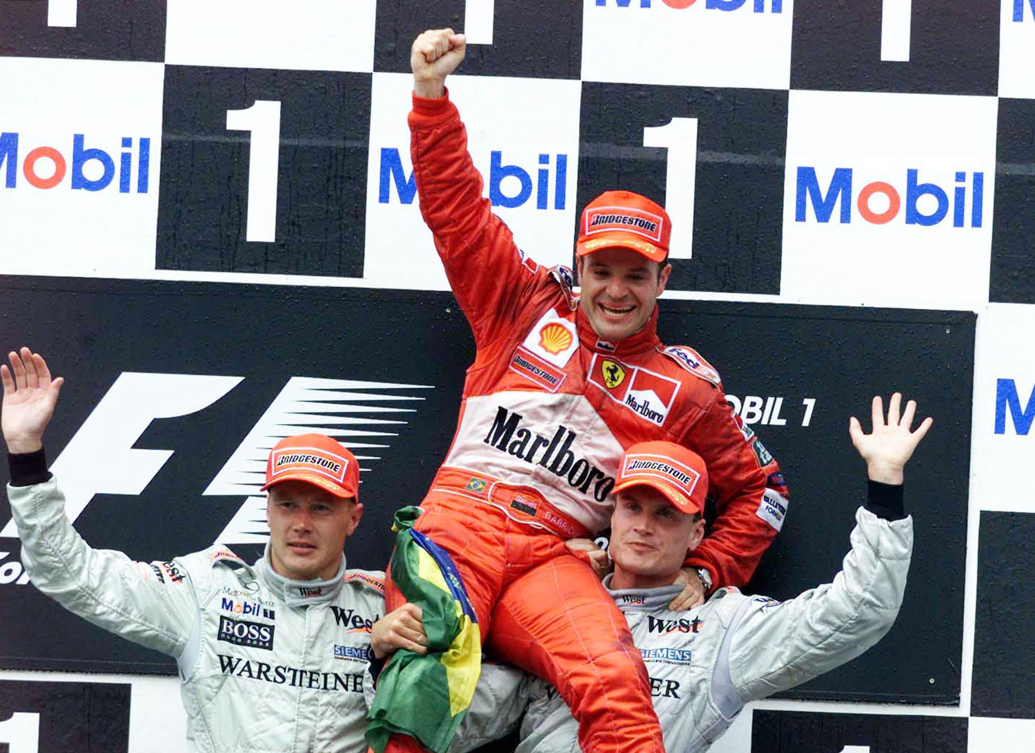 Rubens Barrichello wins German Grand Prix 2000